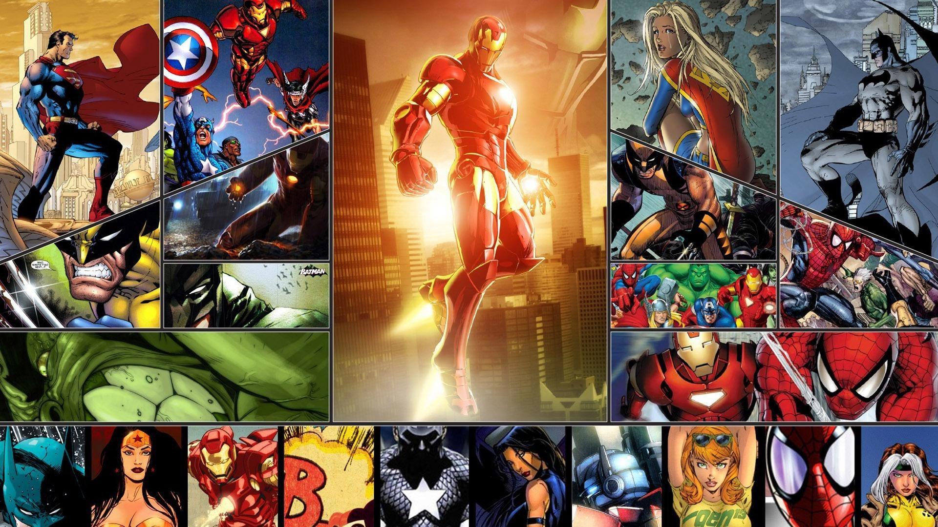 Comics Superheroes Desktop Background – New HD Wallpapers
