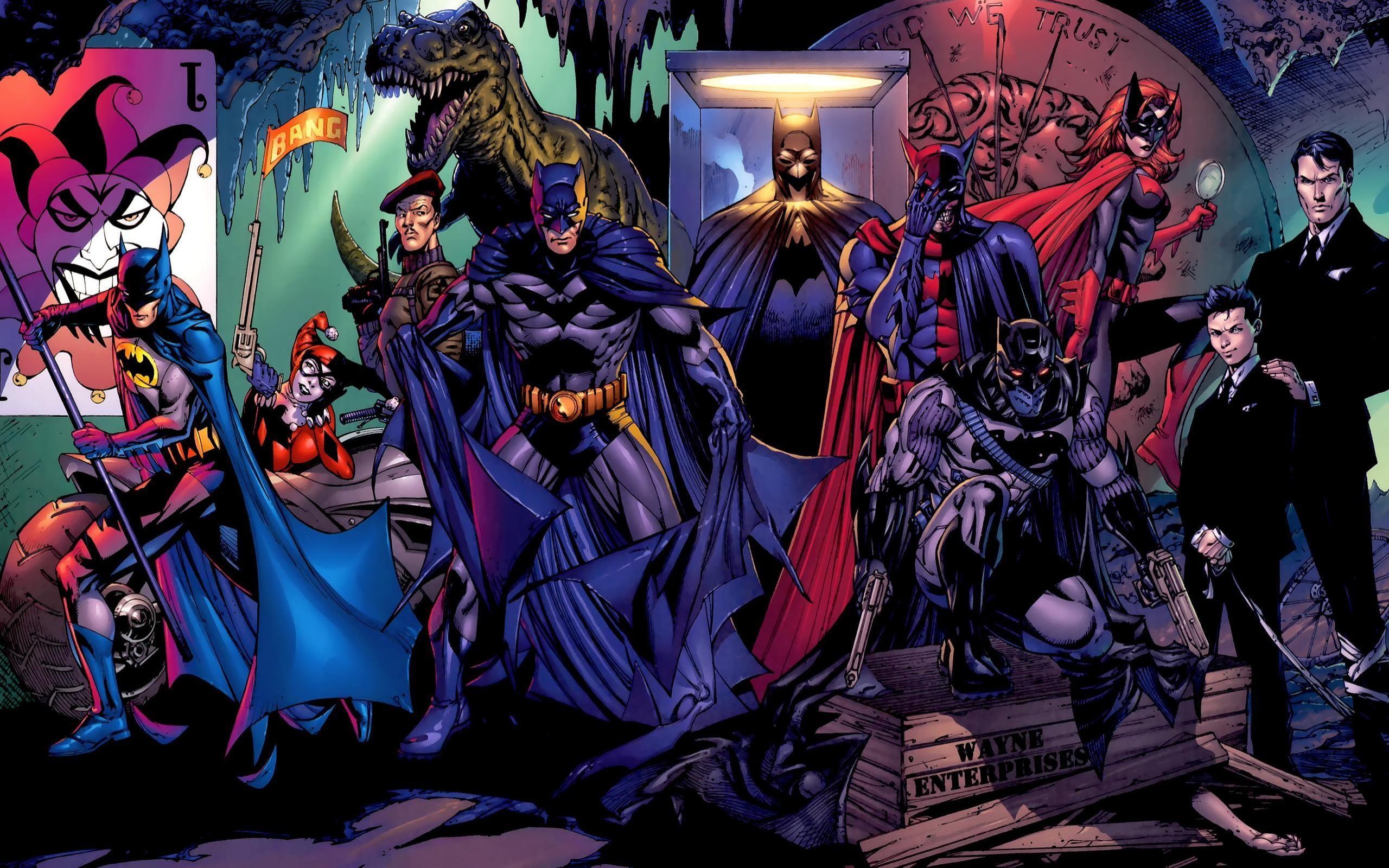 Batman DC Wallpaper Batman, DC, Comics, Harley, Quinn .