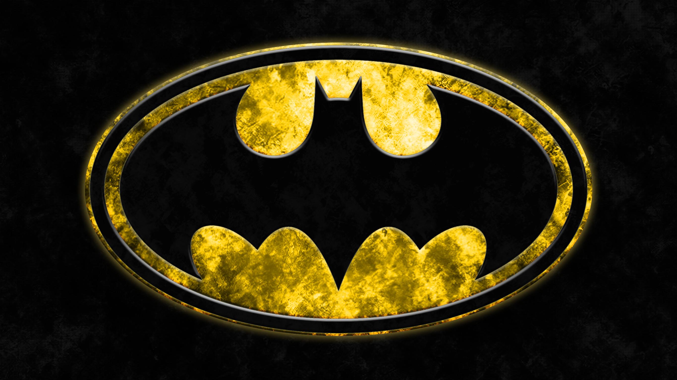 DeviantArt: More Like Batman Grunge Logo Wallpaper by RussJericho23
