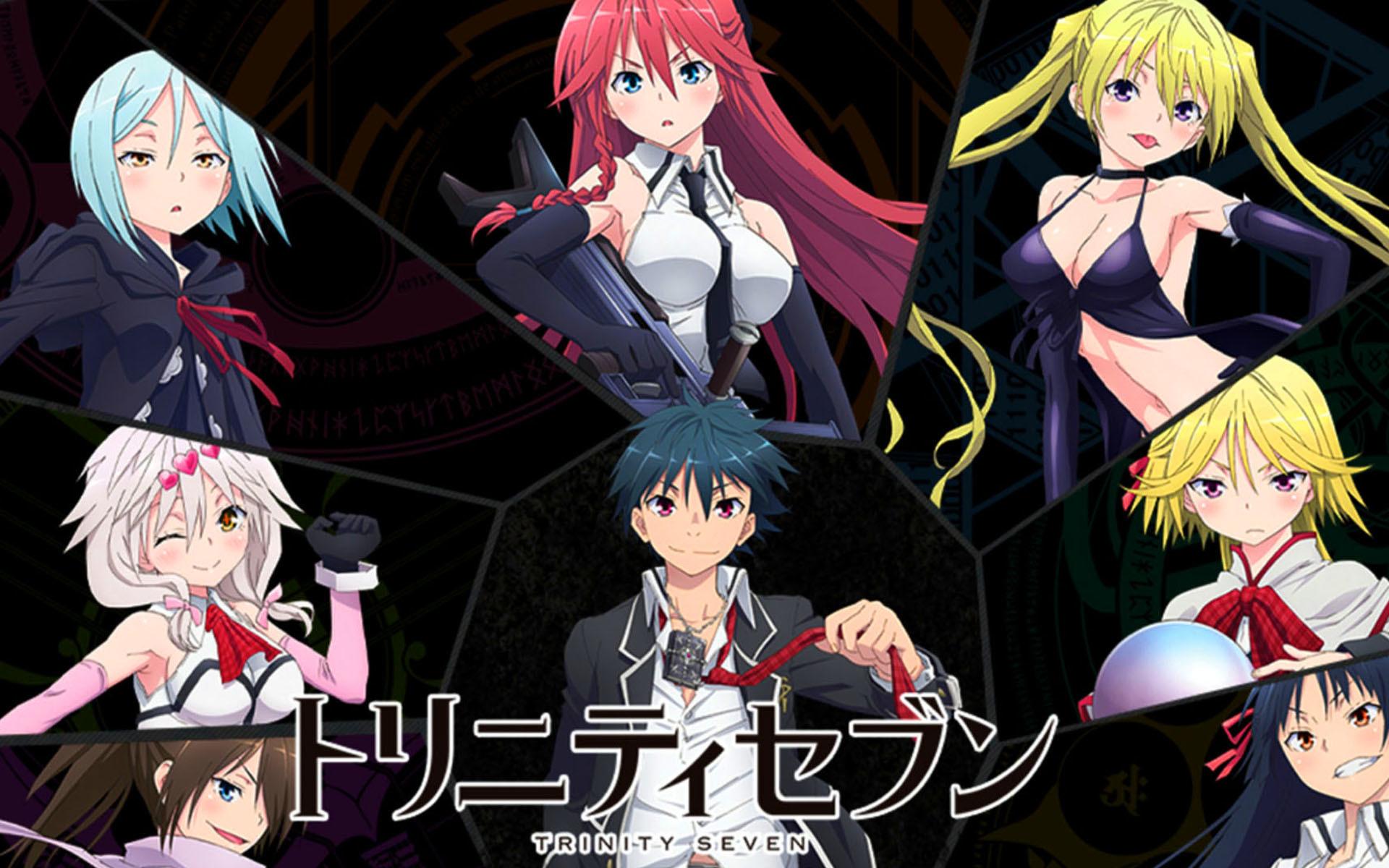 Trinity Seven Anime Wallpaper