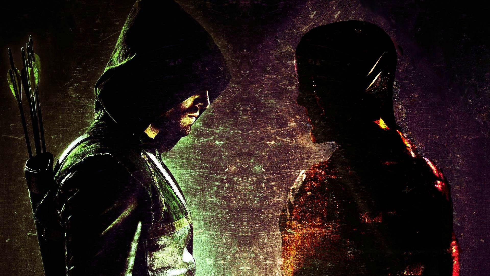 The Flash vs Green Arrow