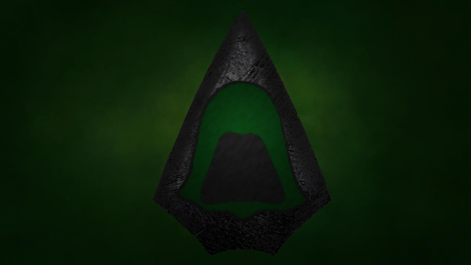 Green Arrow Wallpaper (Simplistic-ish) [1920×1080]