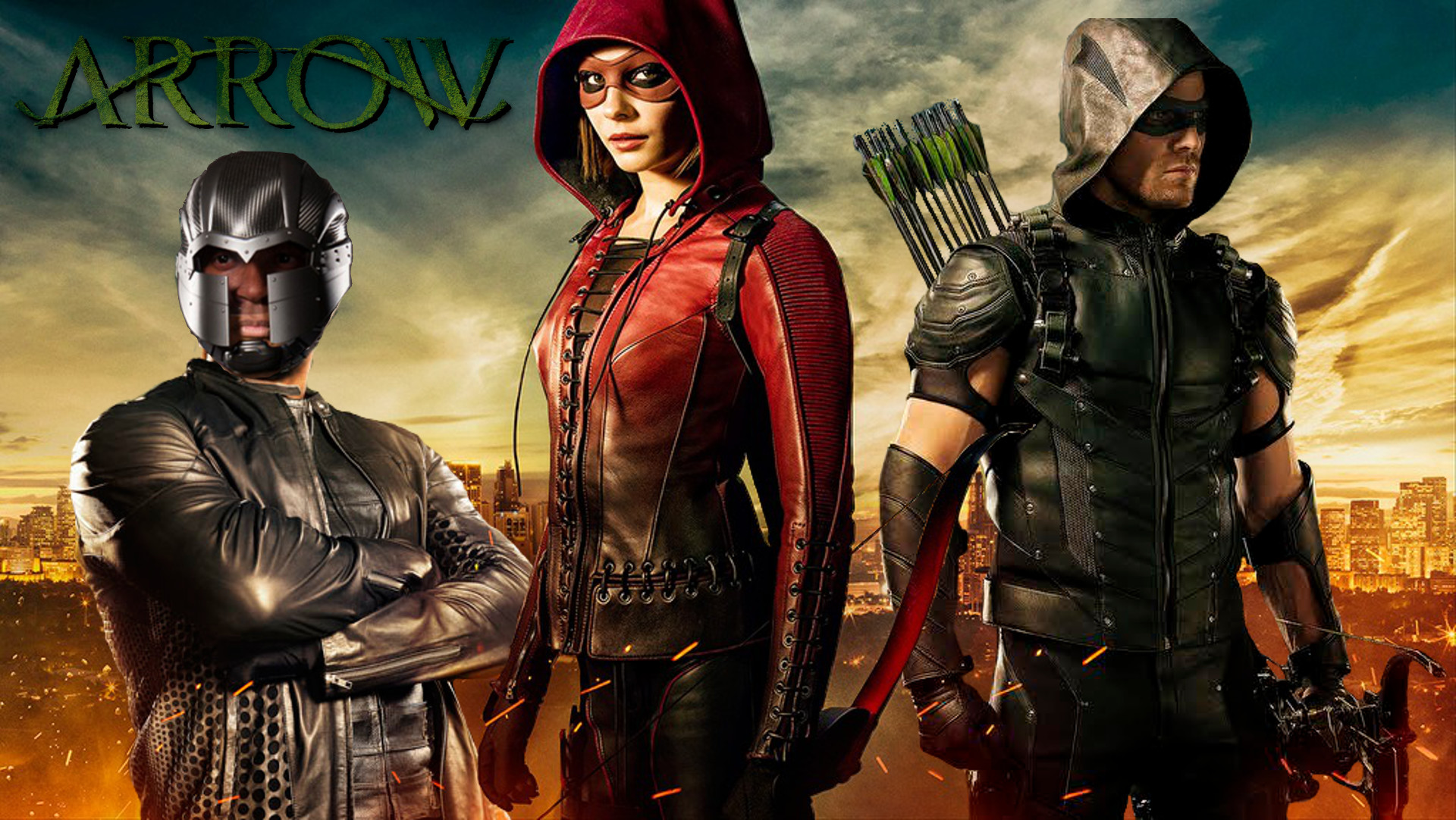 Fan Content[Fan Content] Season 4 Diggle, Speedy & Green Arrow Wallpaper …