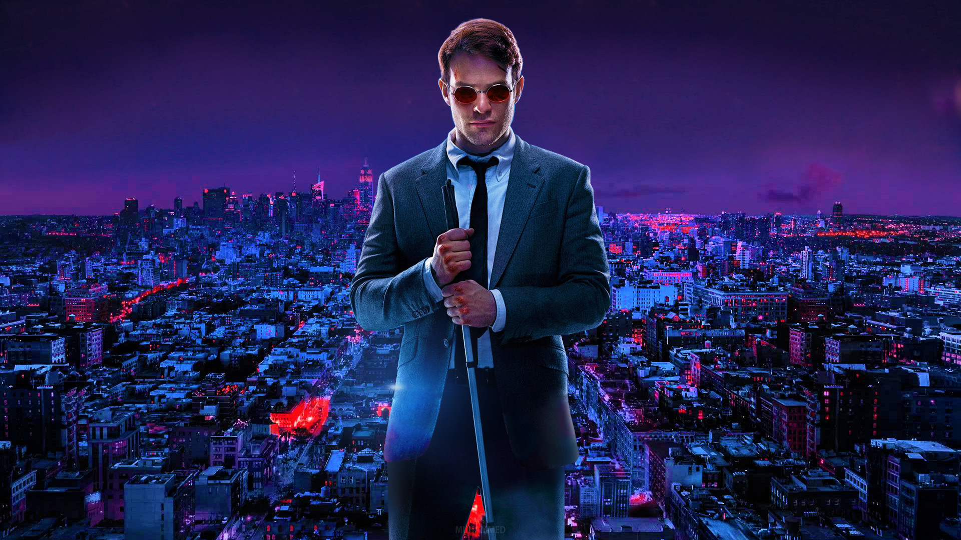 Daredevil HD Wallpaper Without Text by muhammedaktunc Daredevil HD Wallpaper  Without Text by muhammedaktunc