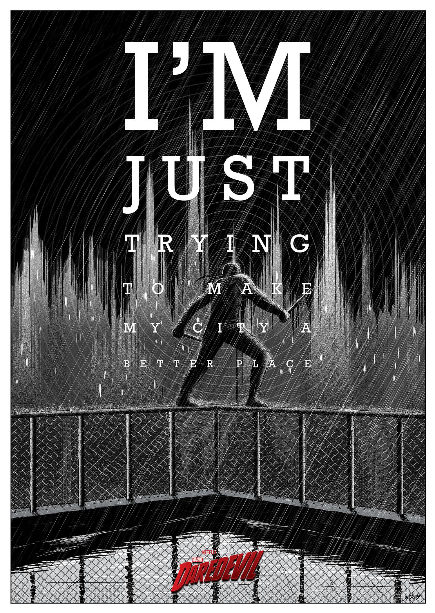 Poster Posse Creates the Greatest Daredevil Art Ever!
