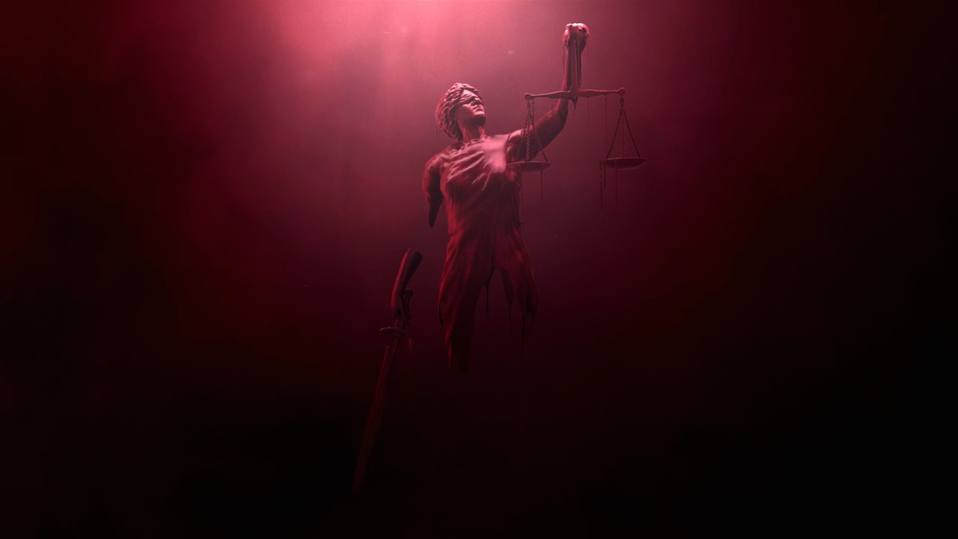 here is another one someone else posted of the intro showing Lady Justice.