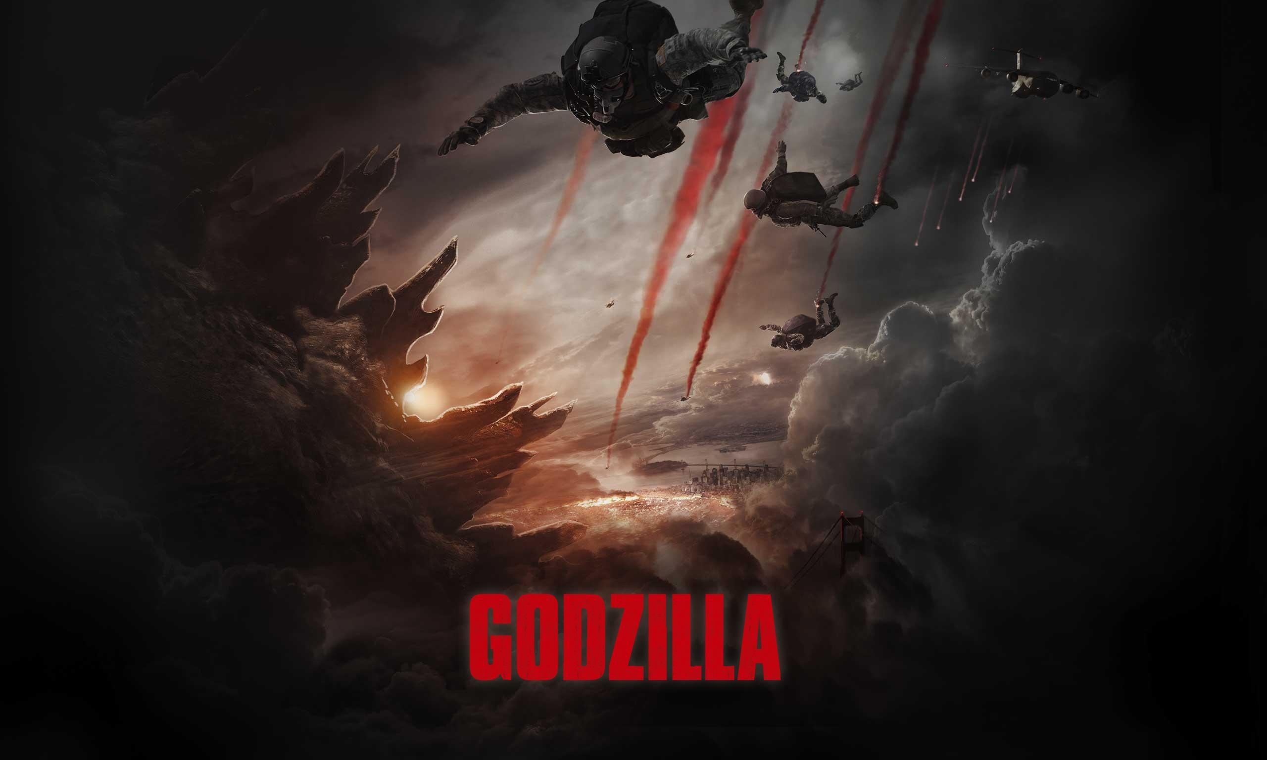 Godzilla 2014 Movie Wallpaper HD | Godzilla 2014 Movie