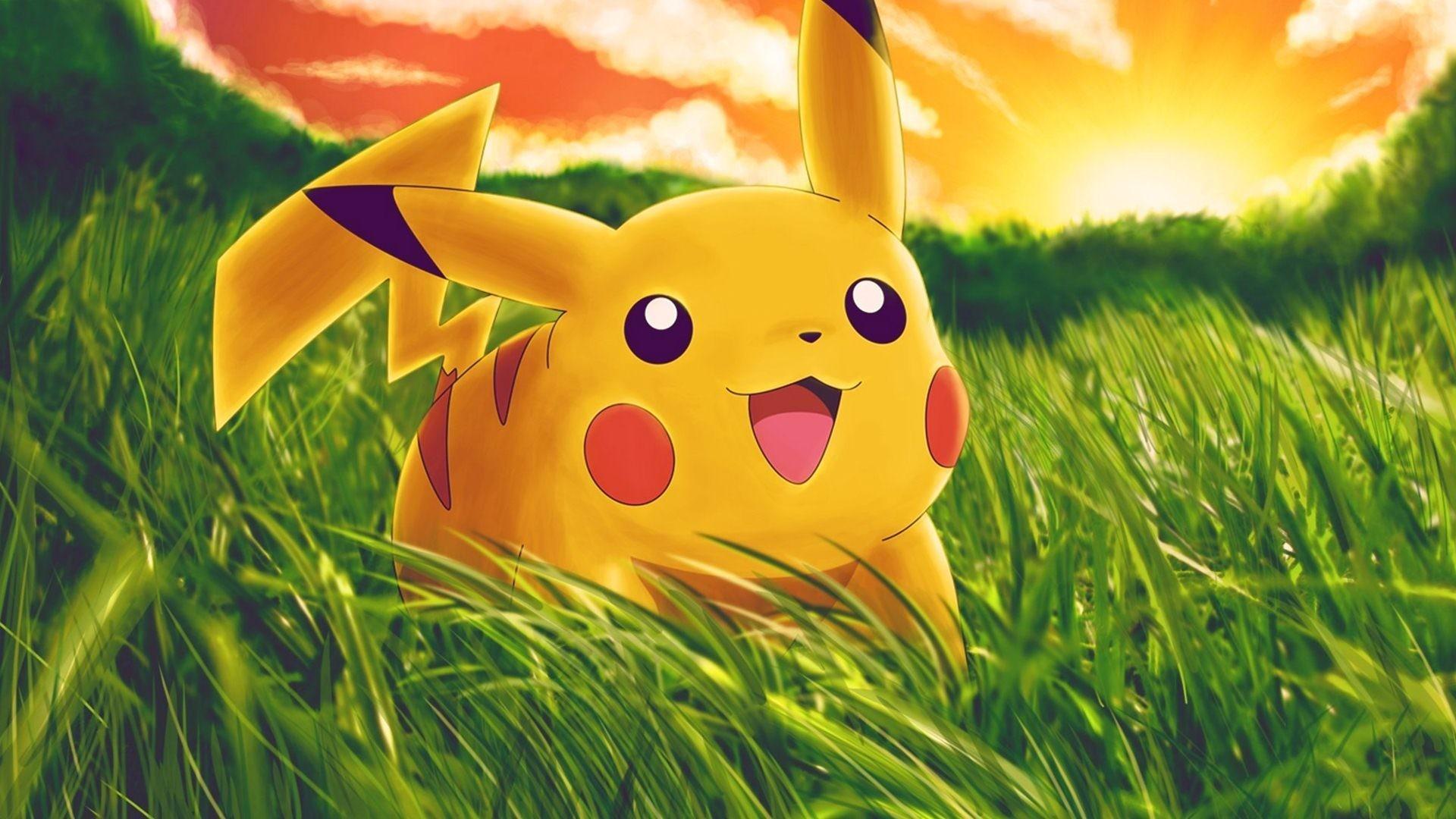 Pikachu pokemon cartoon wallpaper