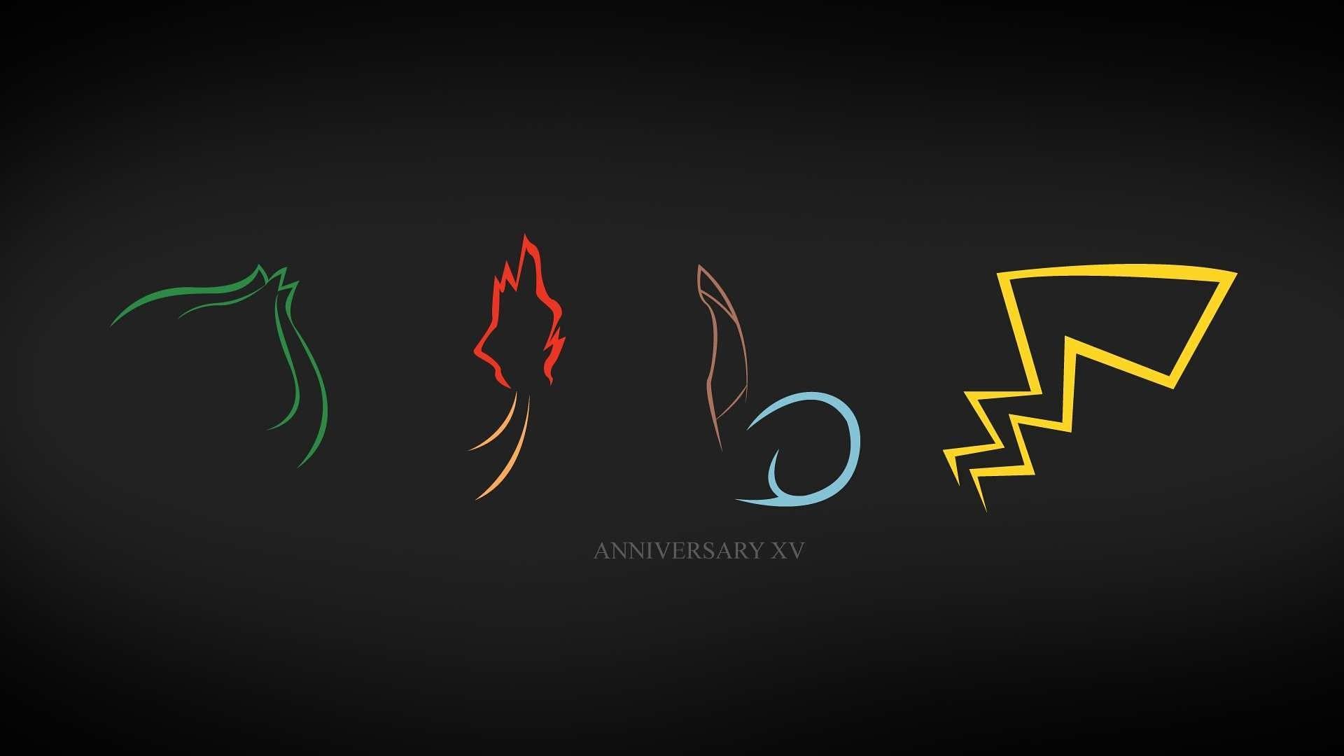 Pokemon Anniversary XV Pokemon Anniversary XV HD Wallpaper