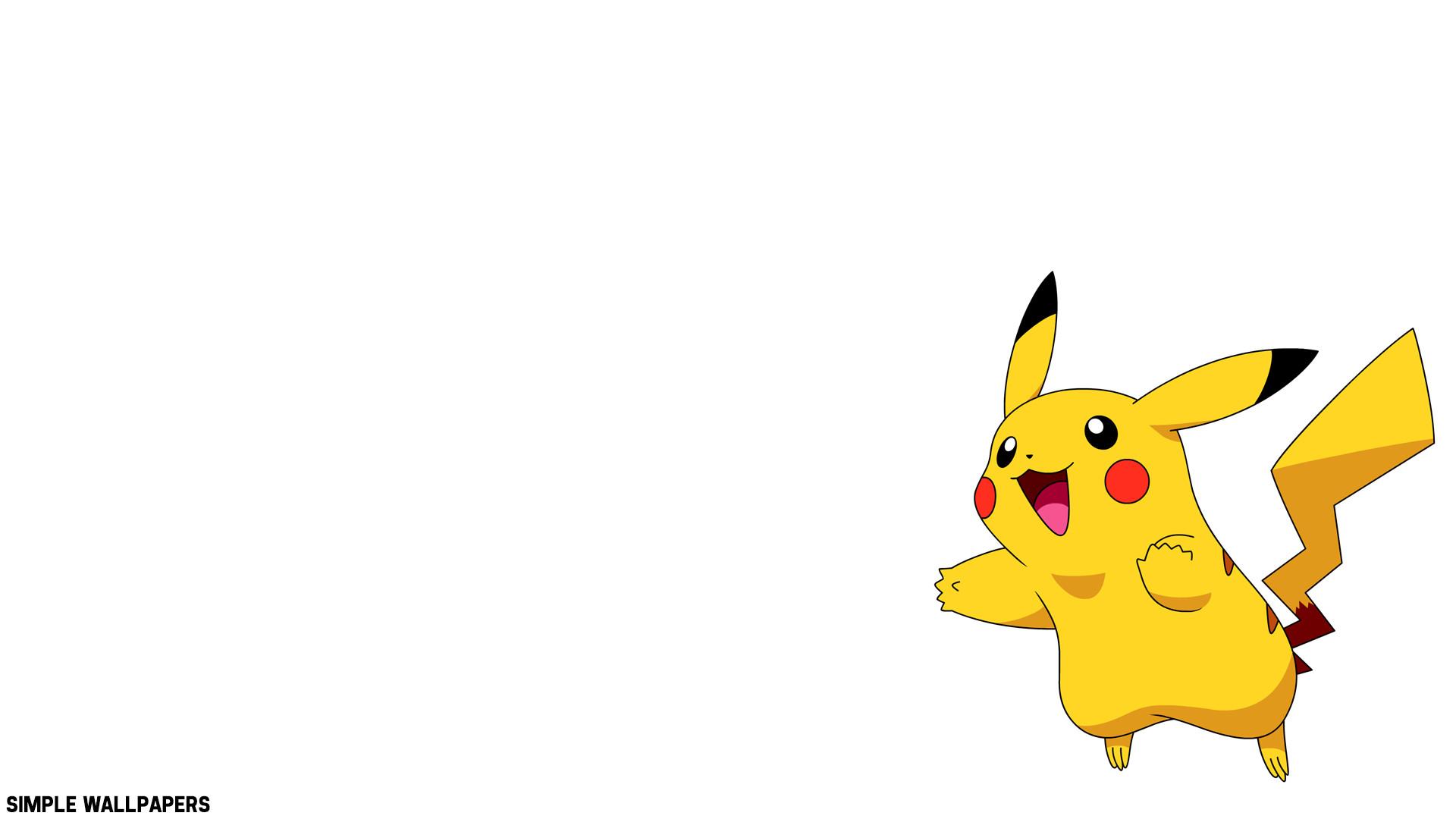 Pikachu Wallpaper by SimpleWallpapers Pikachu Wallpaper by SimpleWallpapers