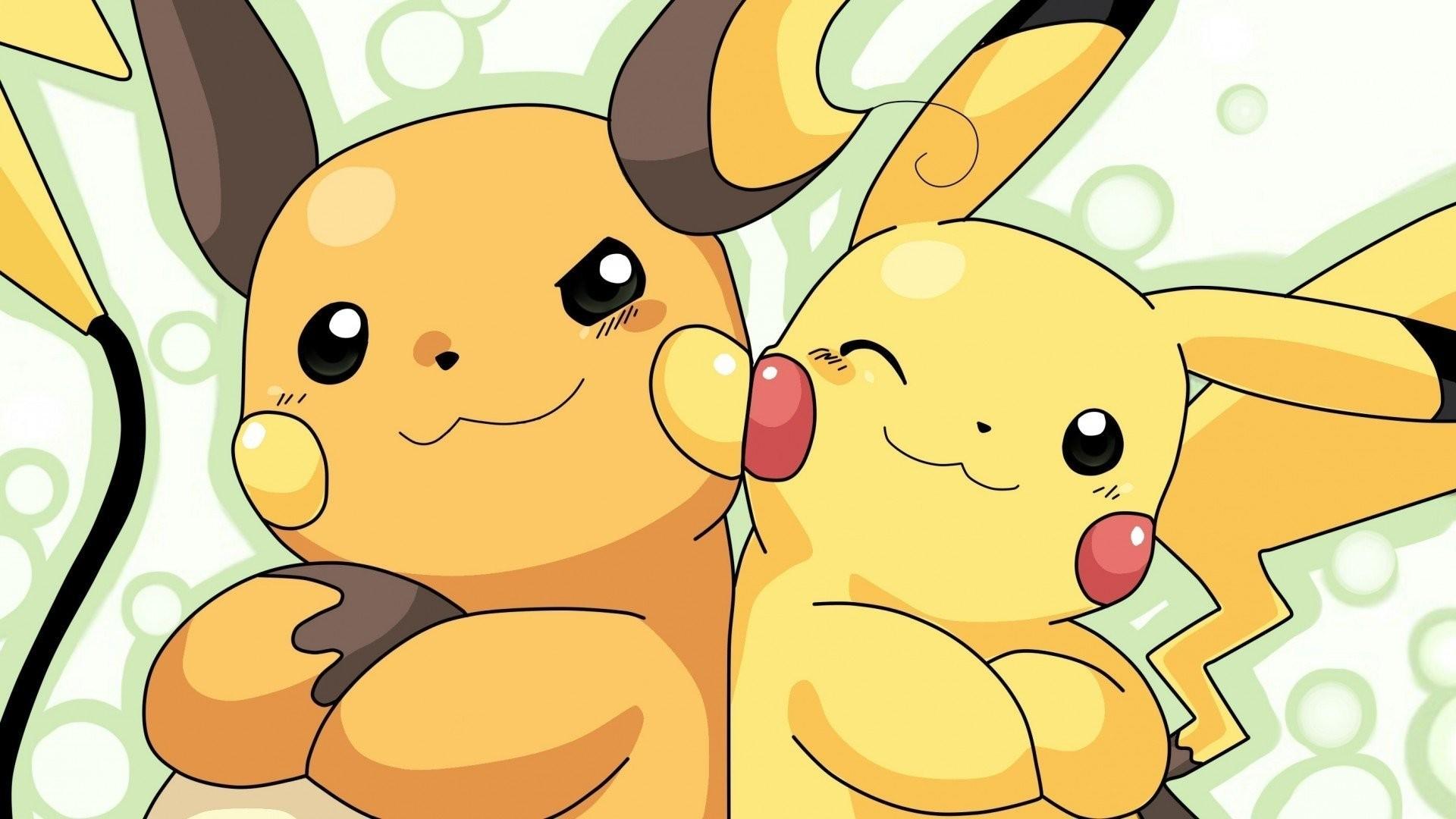 Anime РPok̩mon Pikachu Raichu (Pok̩mon) Wallpaper