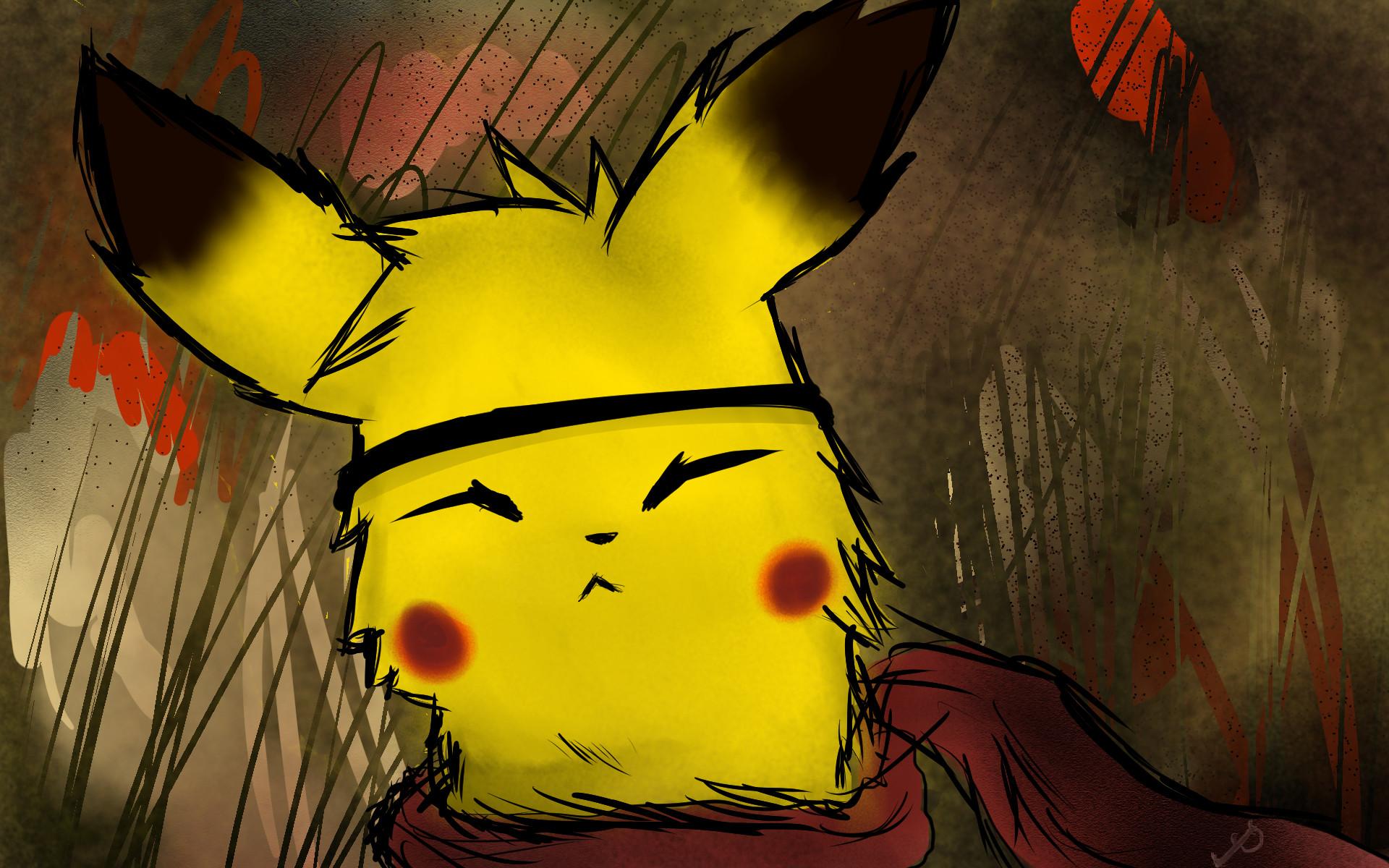 Pikachu Wallpaper by TombieFox Pikachu Wallpaper by TombieFox
