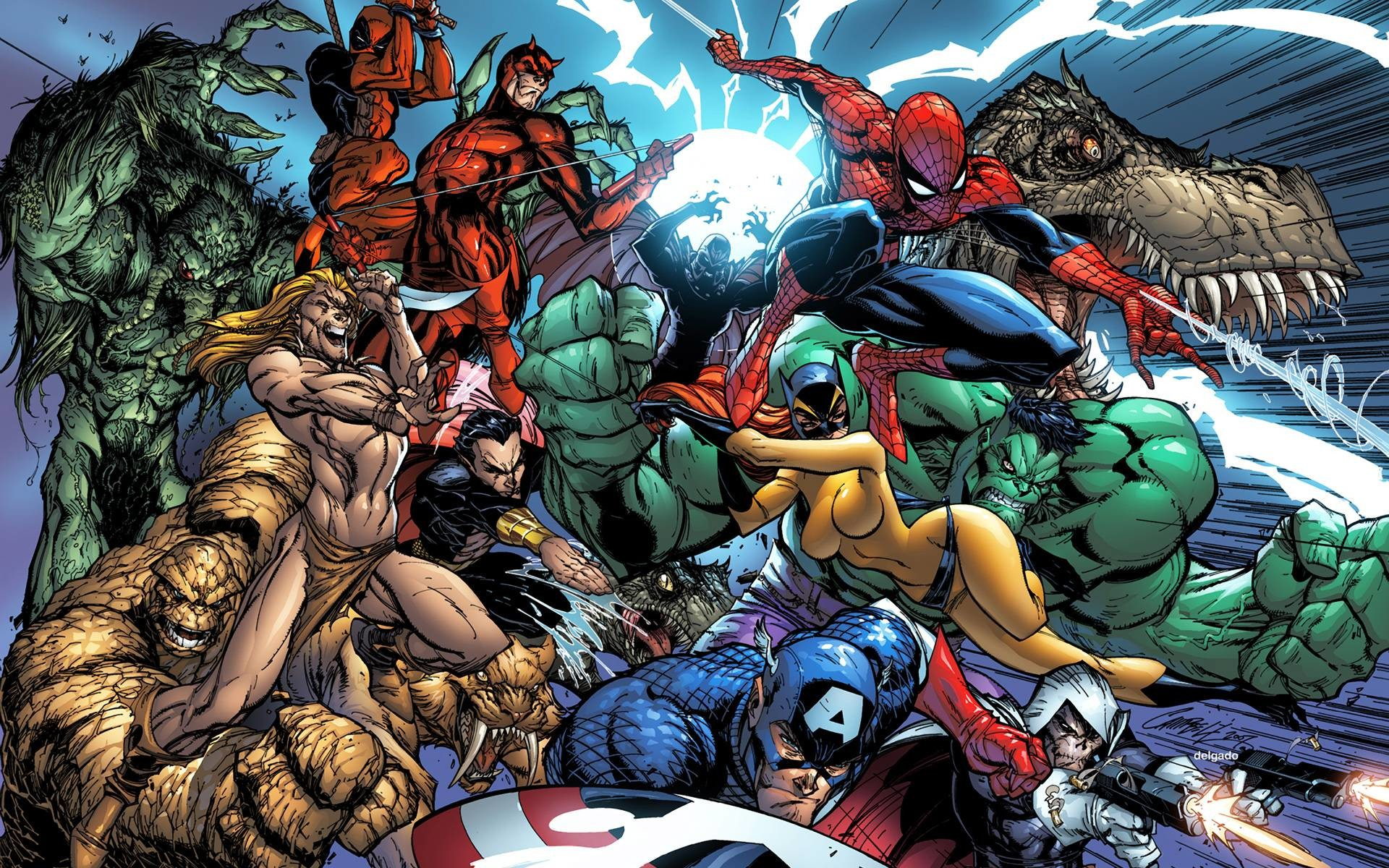 Marvel Heroes Wallpapers – Full HD wallpaper search