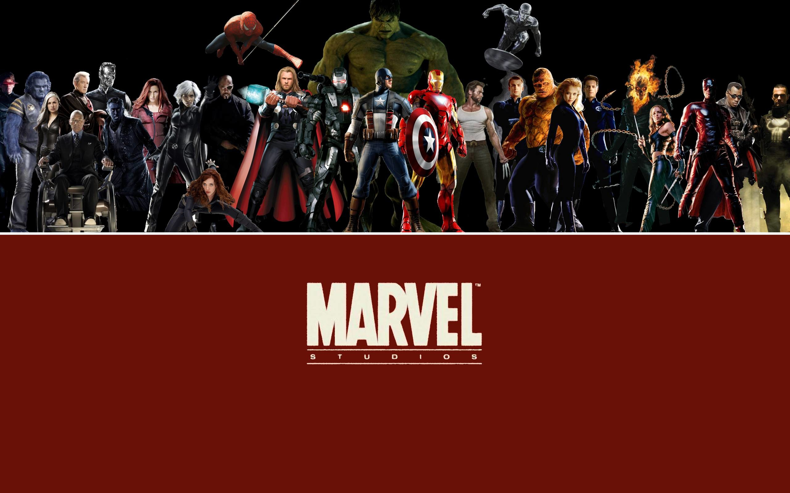 Marvel comix heroes wallpaper   Cartoons HD Wallpapers and .