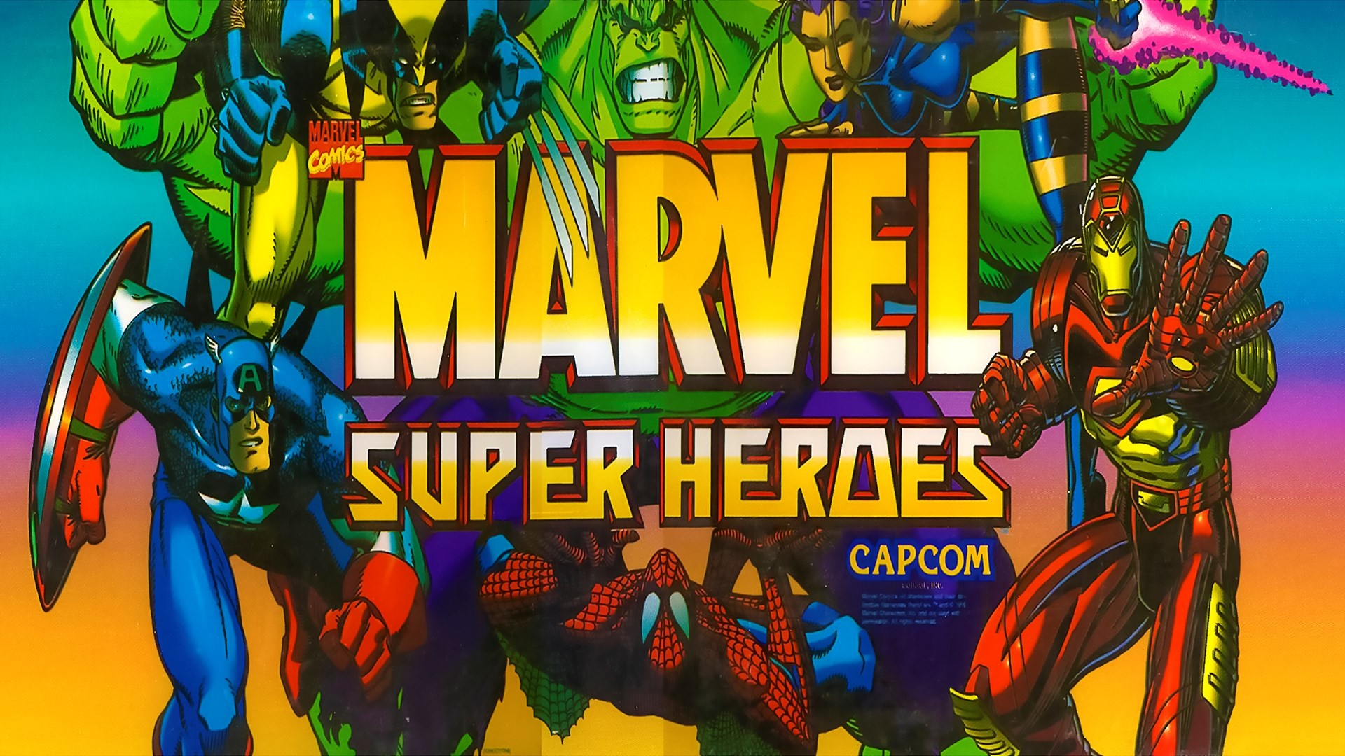 free wallpaper and screensavers for marvel super heroes