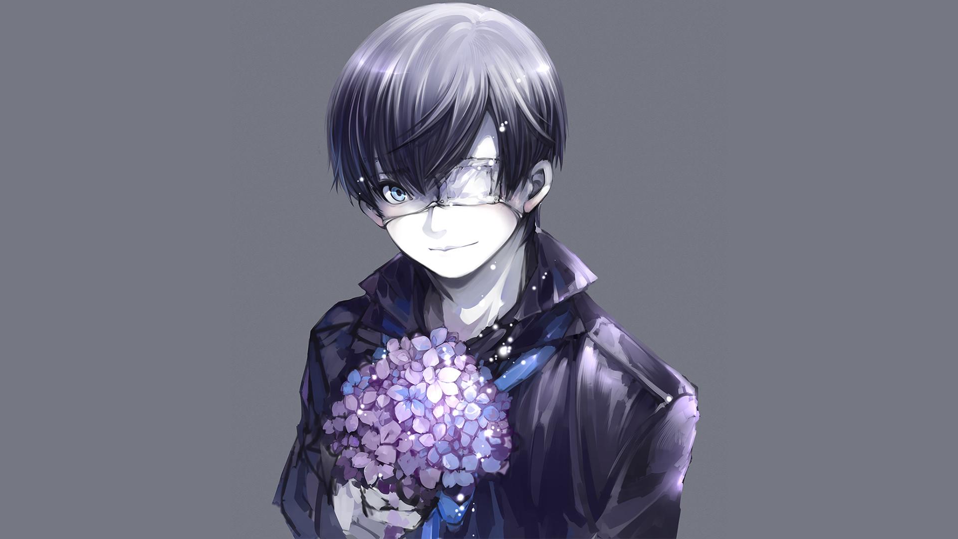 Anime – Tokyo Ghoul Ken Kaneki Wallpaper He's so damn cute *-*