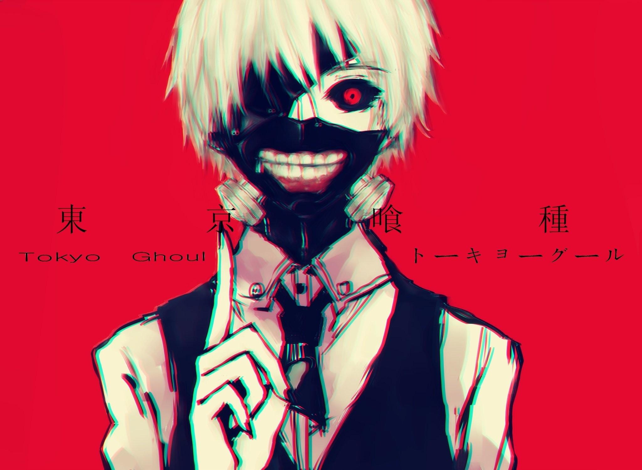 Tokyo Ghoul Ken Kaneki Mask 18 Hd Wallpaper