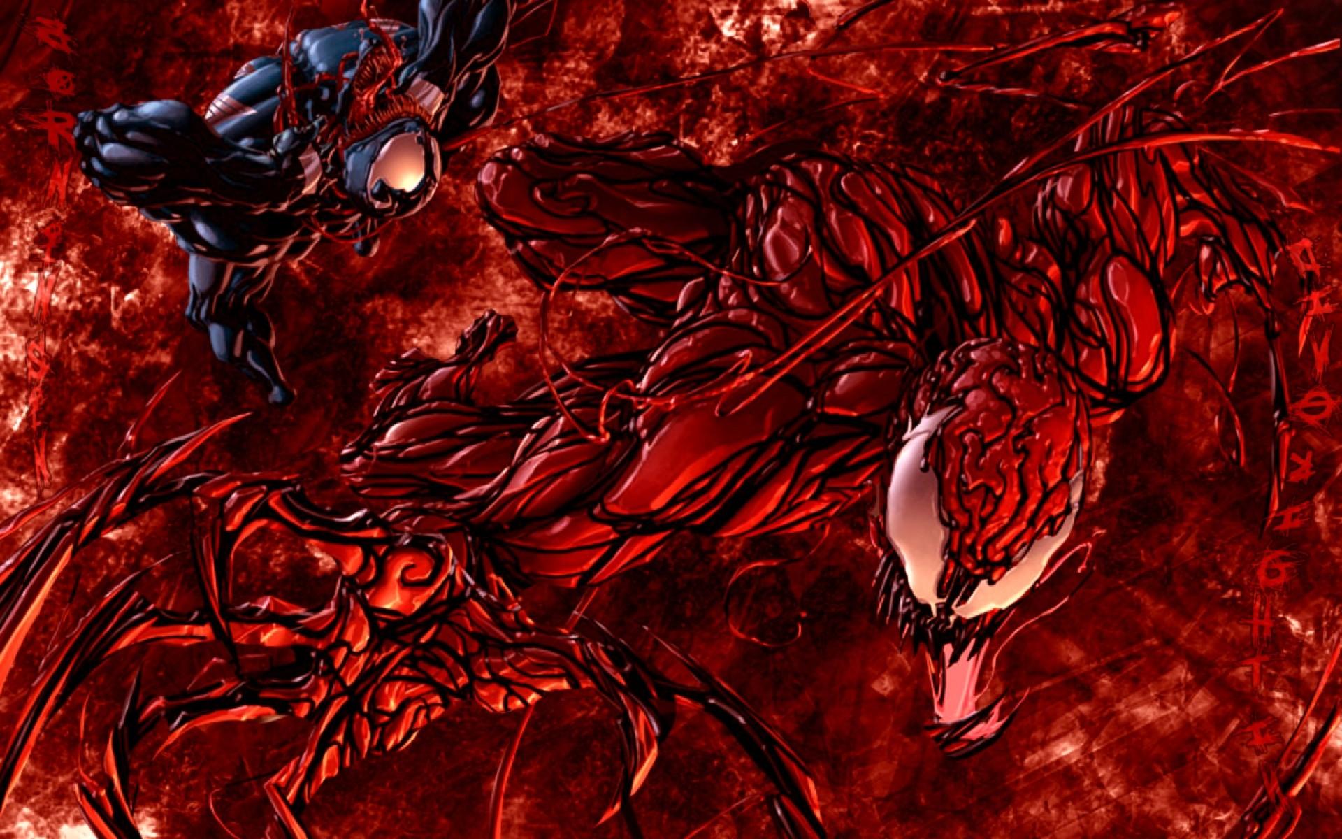 Carnage Wallpaper · Anti Venom vs Carnage