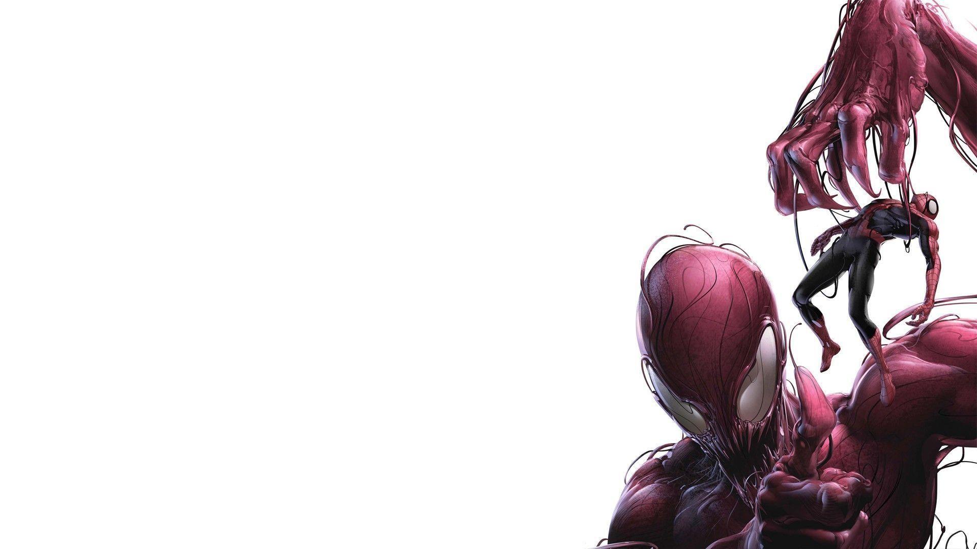 Carnage Vs Anti-Venom – wallpaper.