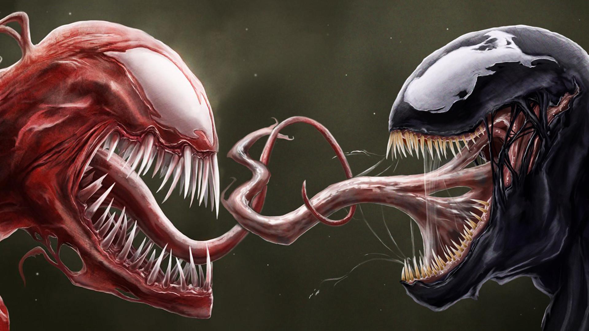 Venom Vs Carnage Wallpaper Background