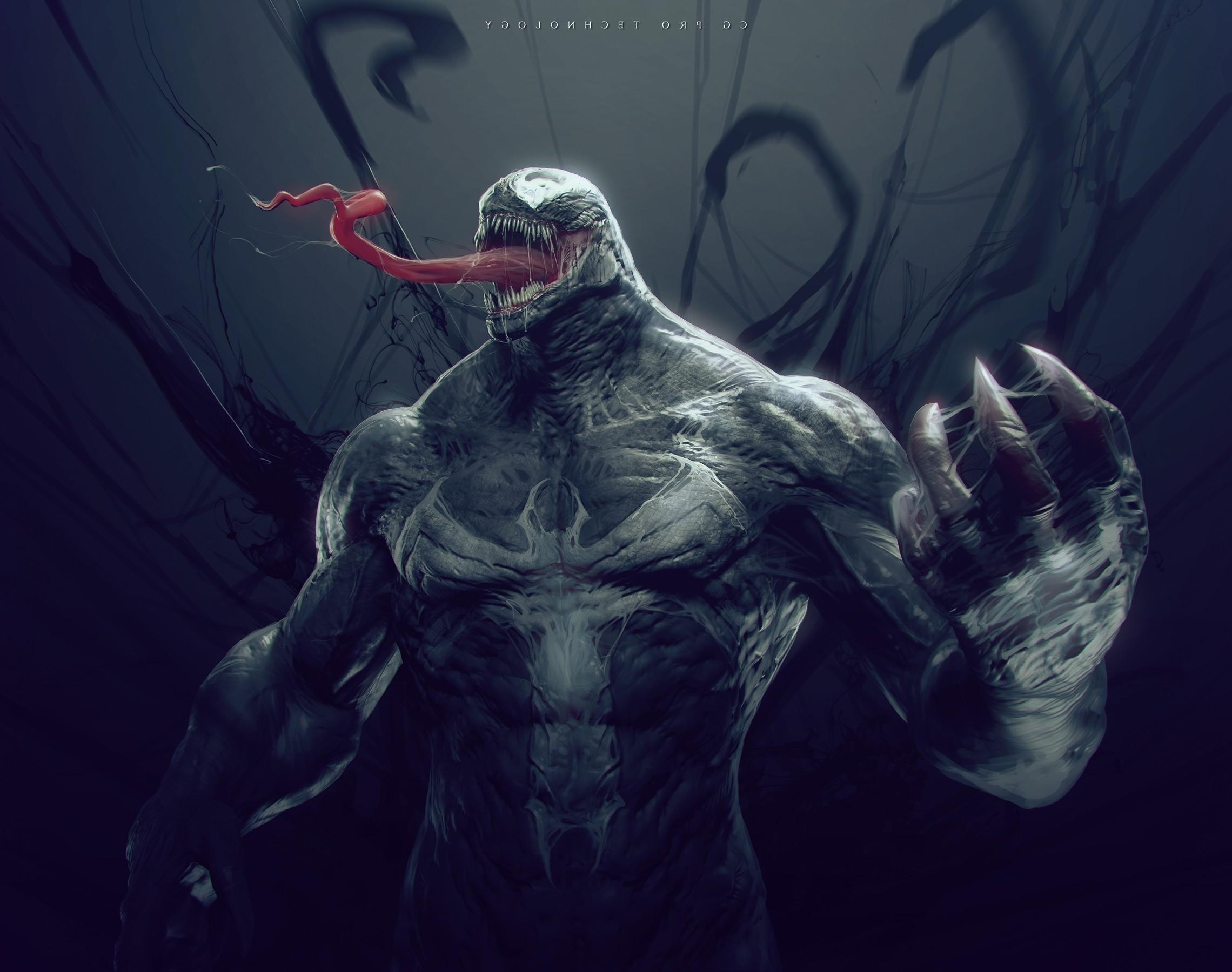 Download hd wallpapers of 204462-fantasy Art, Digital Art, Venom, Spider-