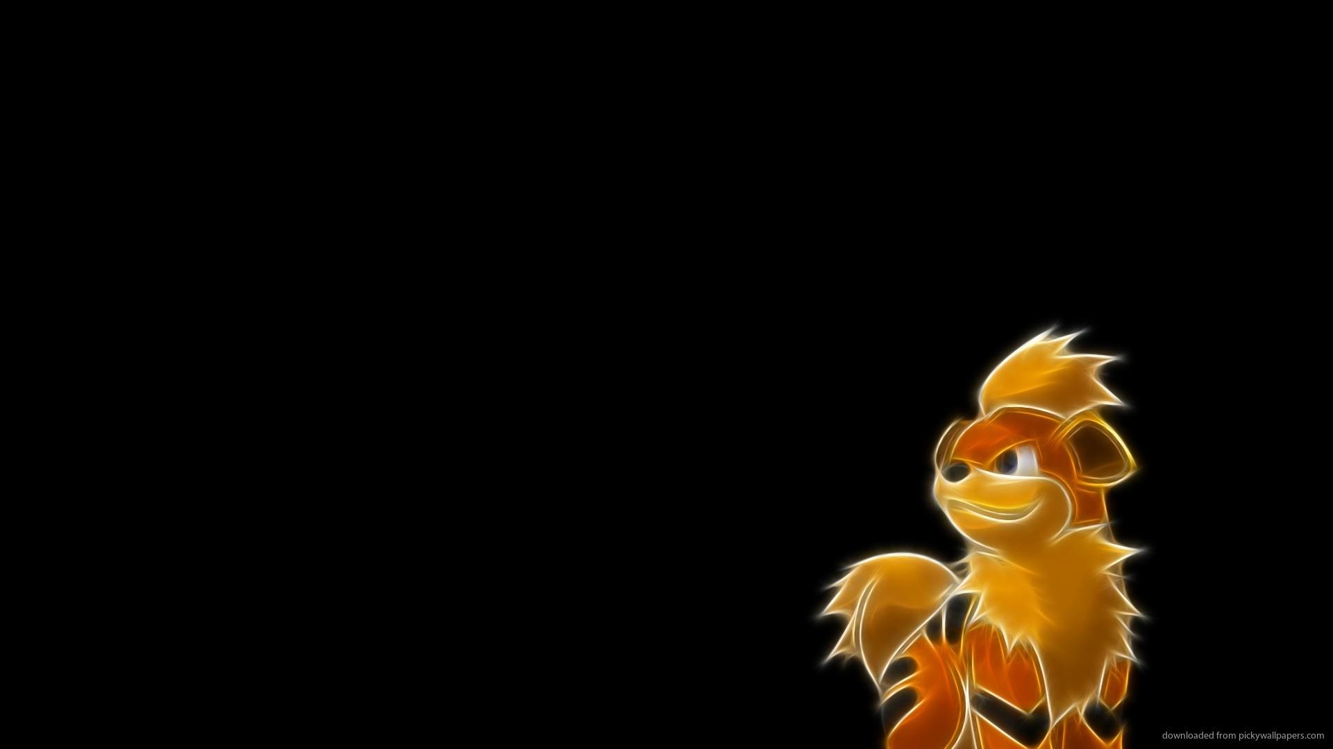 Growlithe Pokemon Wallpaper for 1920×1080