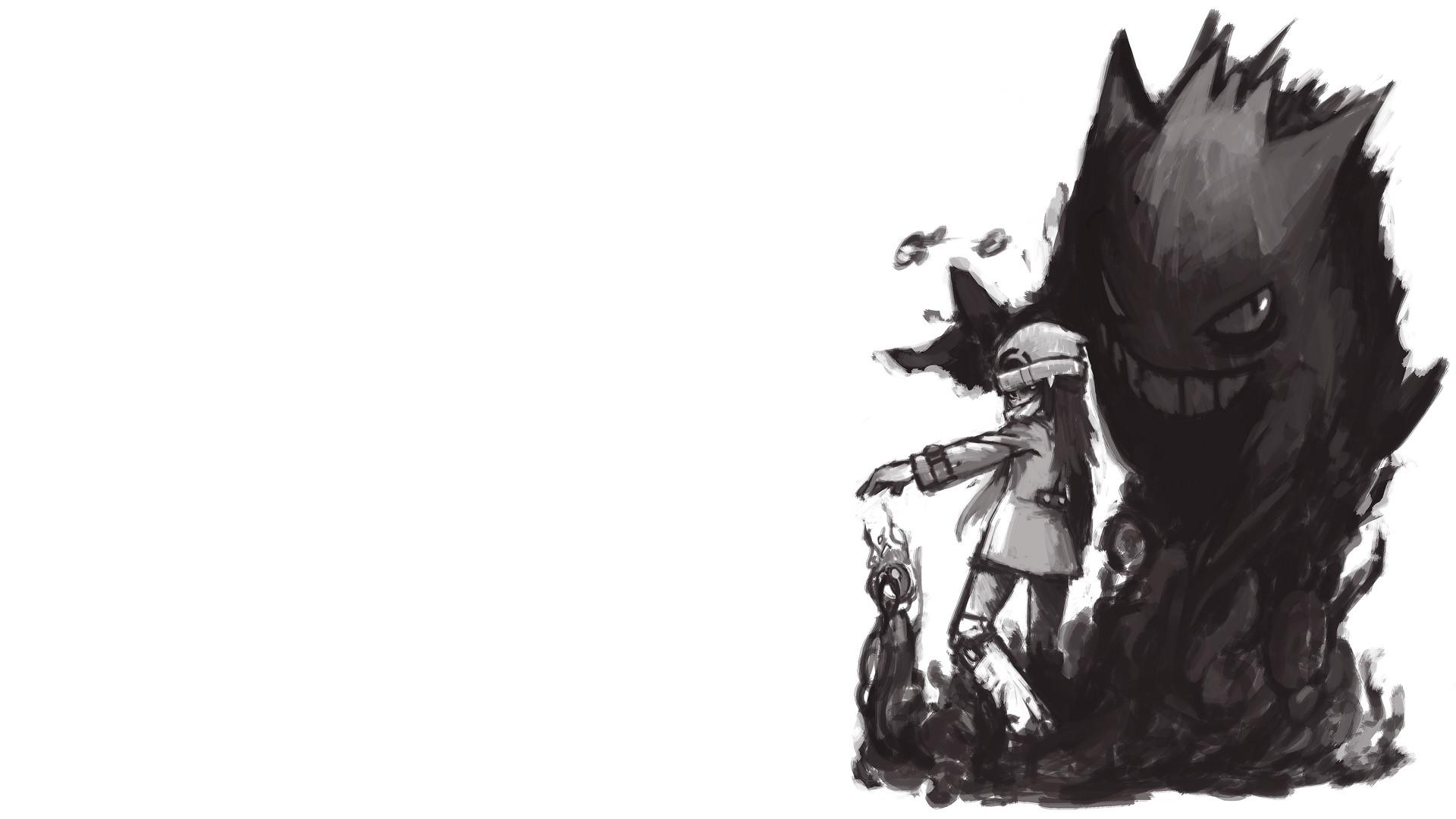 Video Game РPok̩mon Gengar (Pok̩mon) Wallpaper