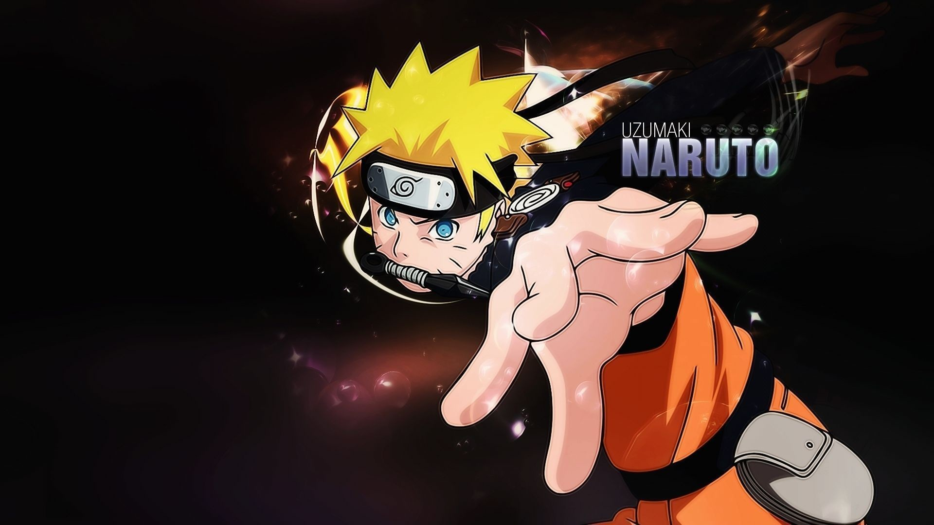 Hands, Blue eyes, Black background, Guy, naruto wallpapers and .