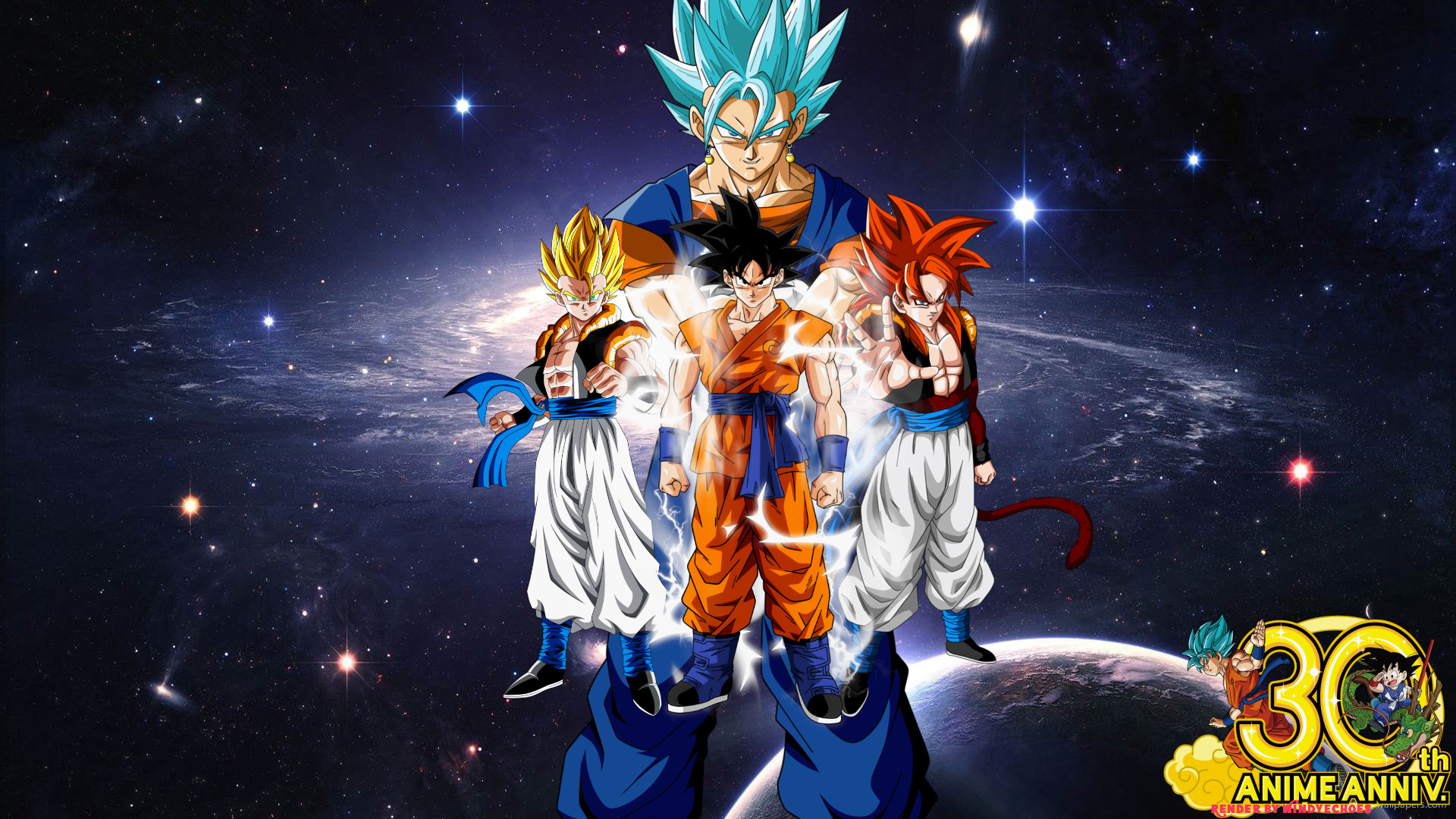 Anime – Dragon Ball Super Vegito (Dragon Ball) SSGSS Vegito Gogeta (Dragon  Ball