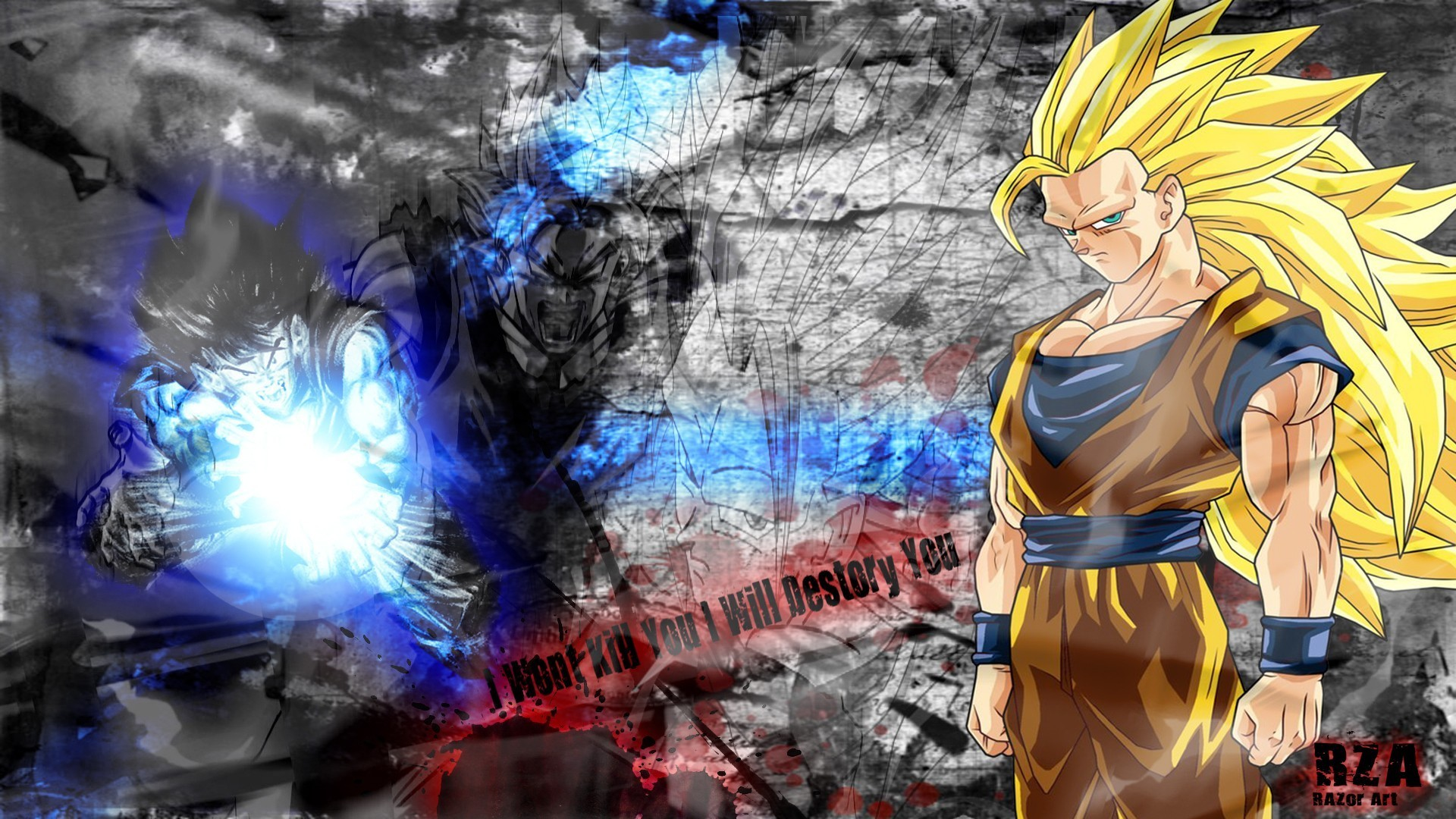 Cool Dragonballz Goku Epic Wallpaper, HQ Backgrounds | HD wallpapers .