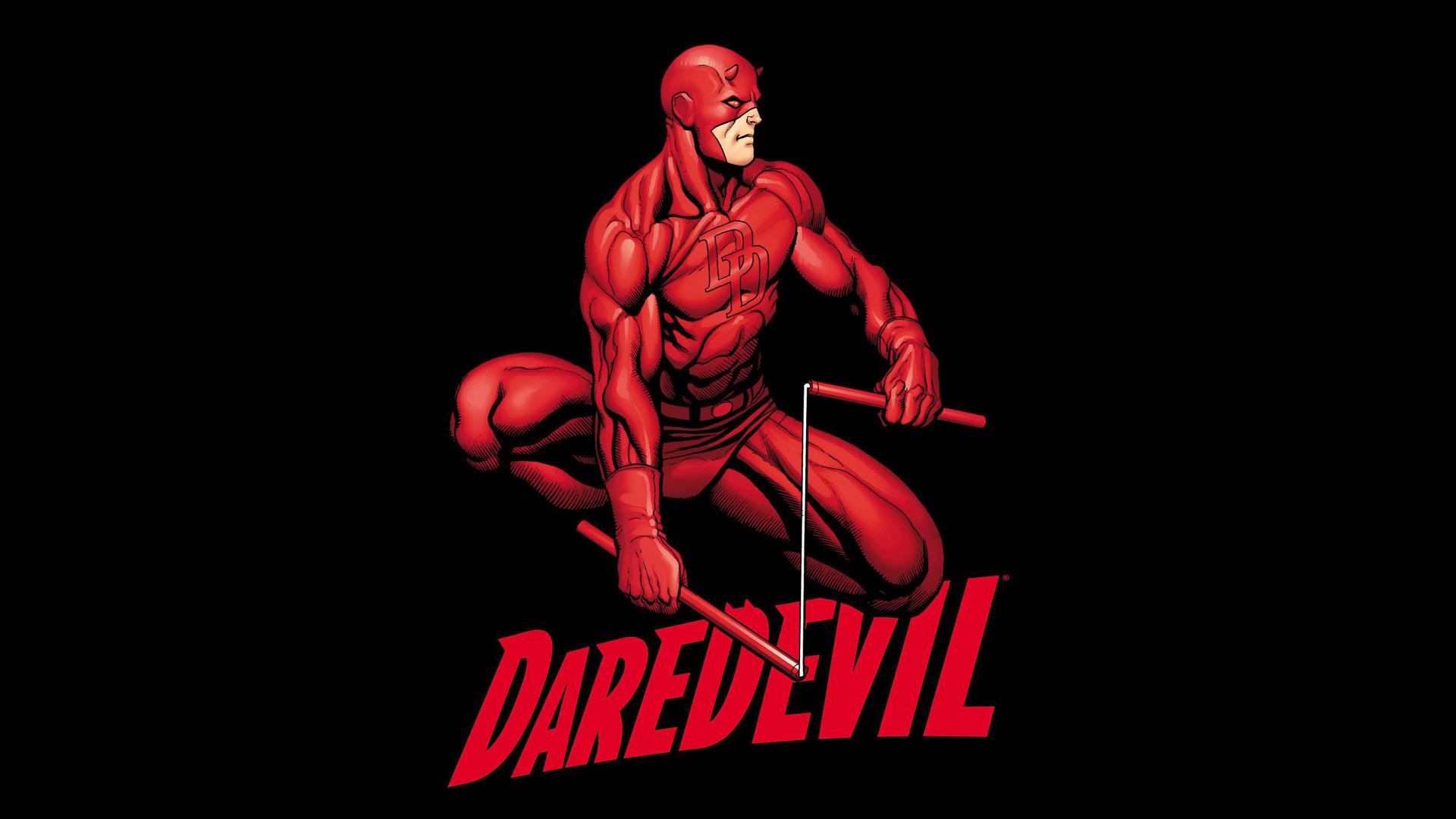 Preview wallpaper daredevil, marvel, superhero, comics 1920×1080