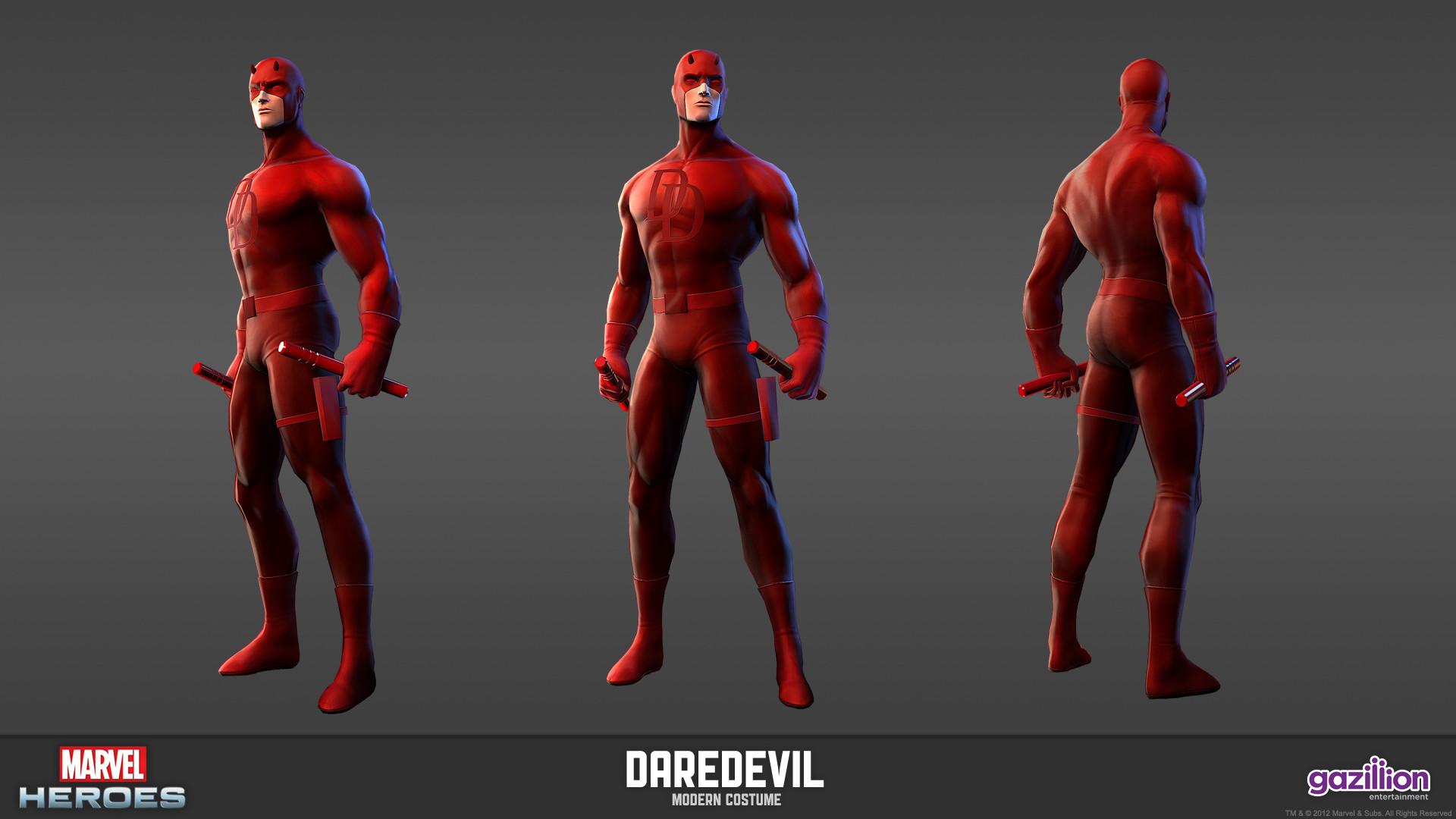 Image – Daredevil Modern Model.jpg   Marvel Heroes Wiki   FANDOM powered by  Wikia