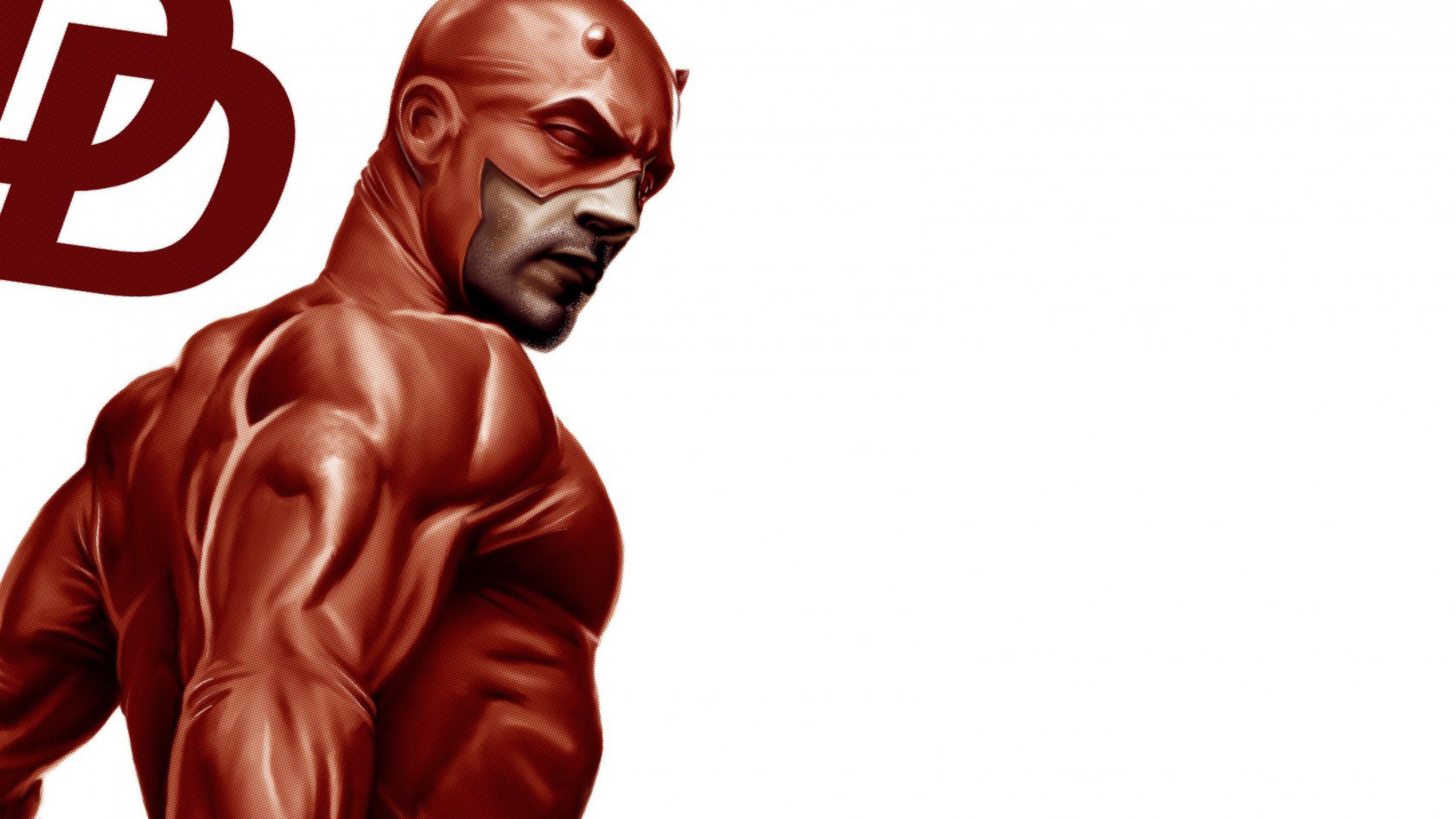Wallpaper daredevil, marvel comics, matt murdock, costume, art