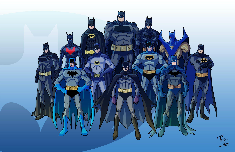 All Batmans Batman Comics Poster
