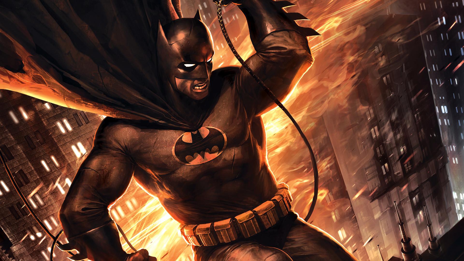 1 Batman: The Dark Knight Returns, Part 2 HD Wallpapers | Backgrounds –  Wallpaper Abyss