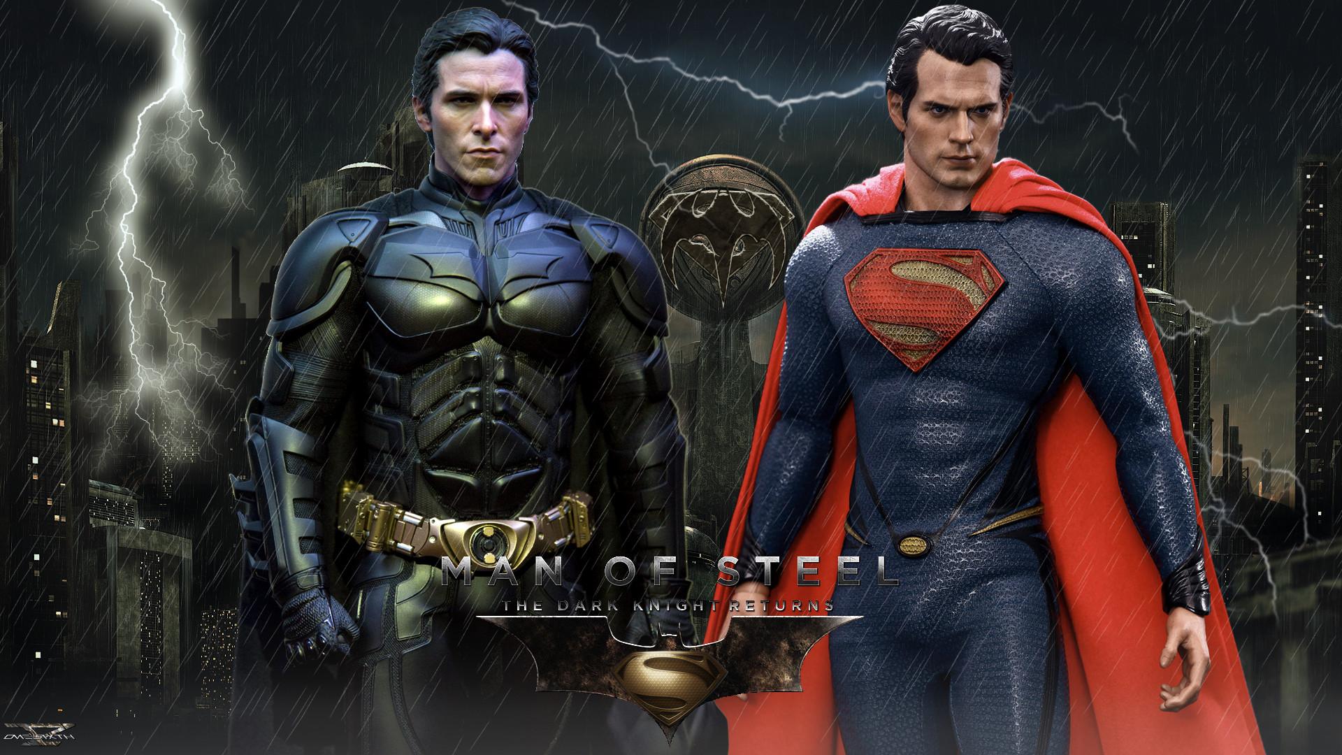 Man Of Steel – The Dark Knight Returns ( Hot Toys ) Full HD .