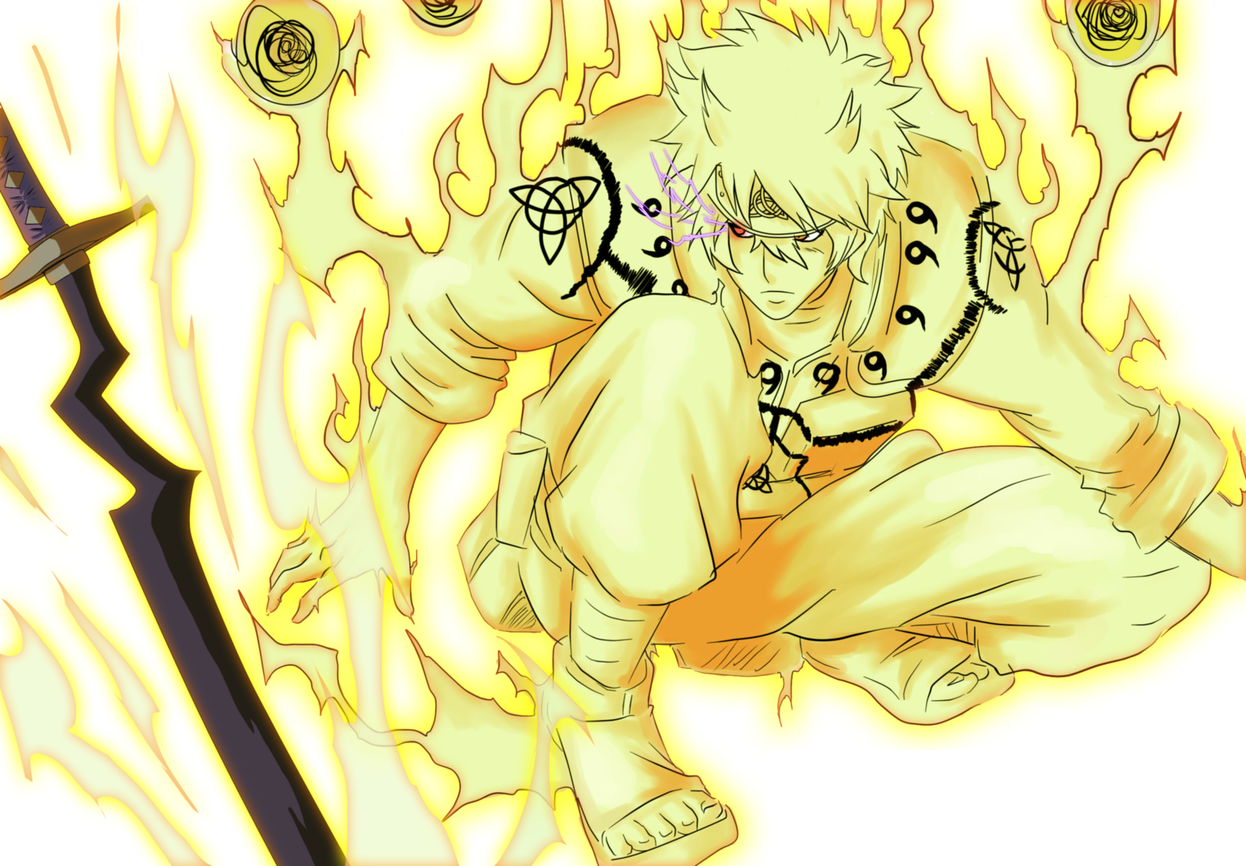 Naruto Full Nine Tails Form Images & Pictures Becuo