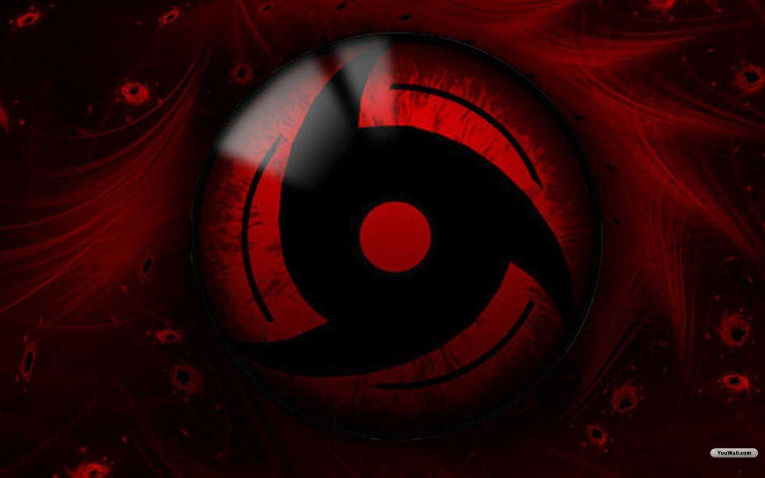 Red Black Naruto Sharingan
