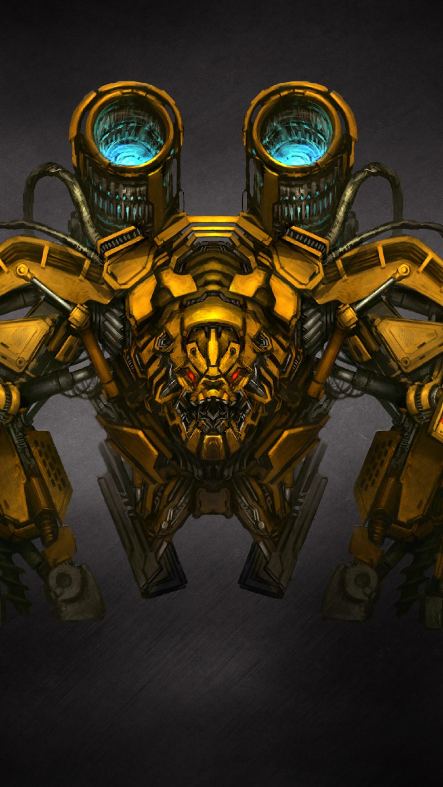 Preview wallpaper transformers, robot, mechanism 1440×2560