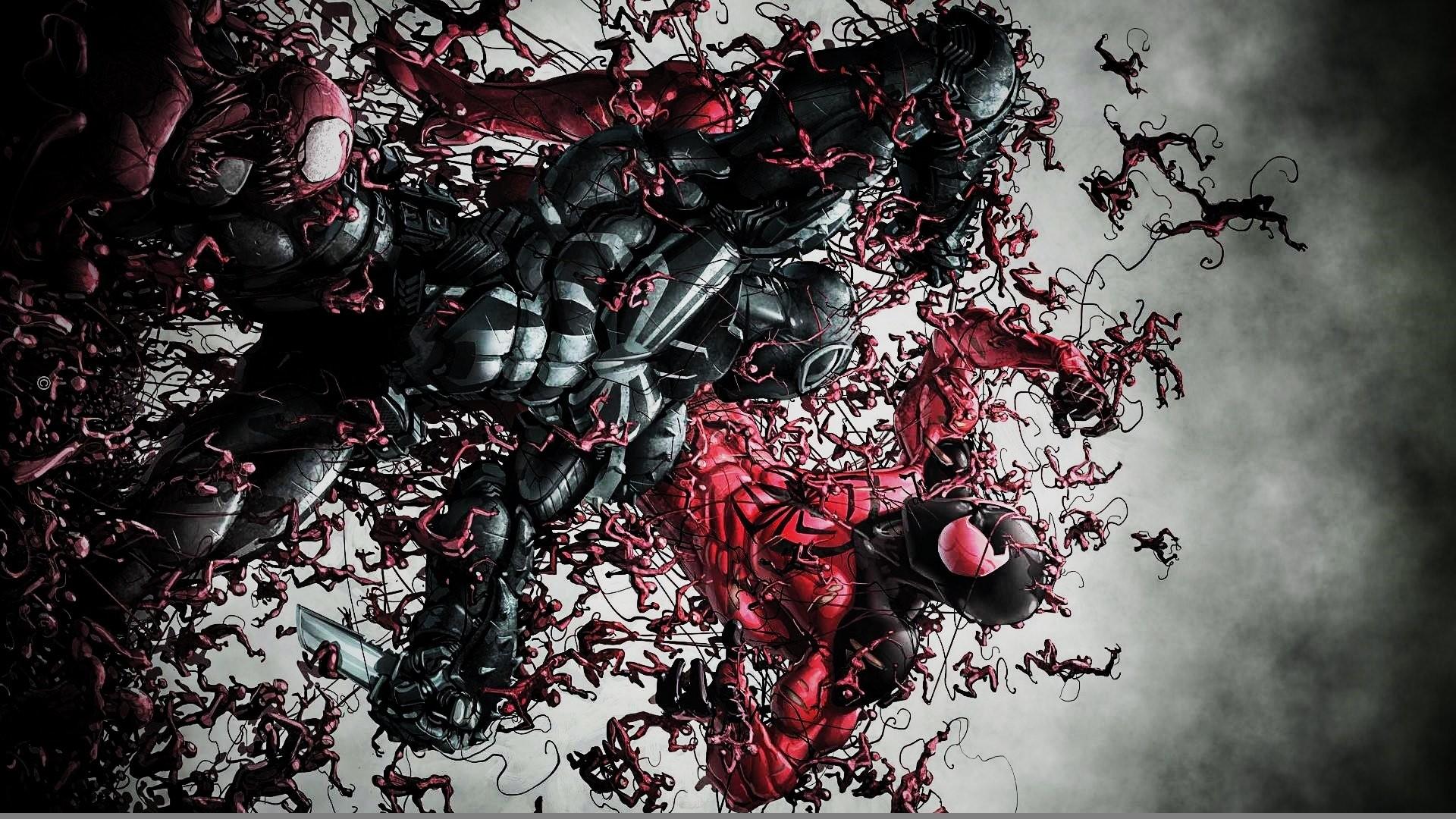 Agent Venom Vs The Scarlet Spider wallpaper | | 615740 .