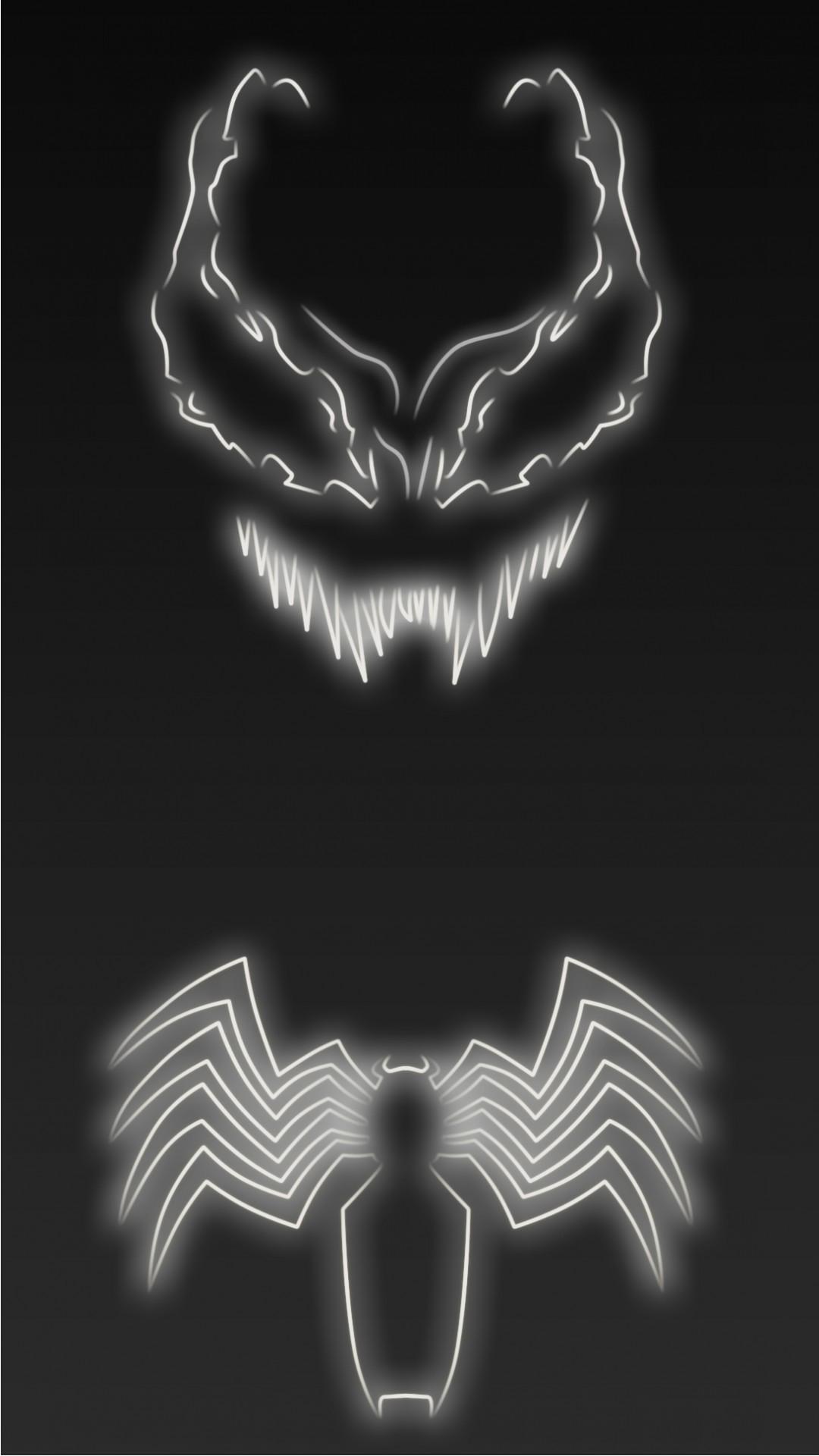Neon Light Venom 1080 x 1920 Wallpapers disponible en téléchargement  gratuit.