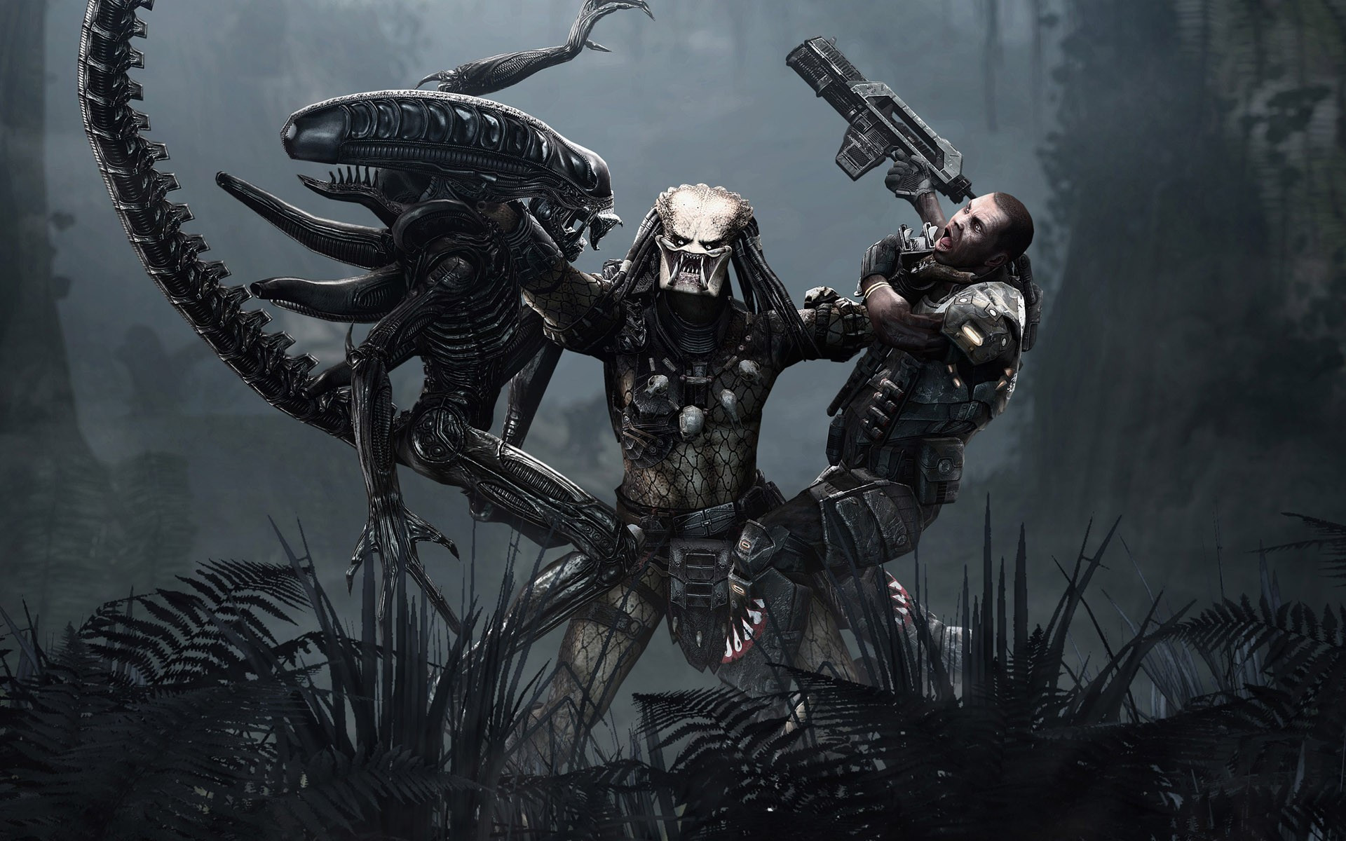 "alien-vs-predator-game-hd-wallpaper-1920×1200-4813. """