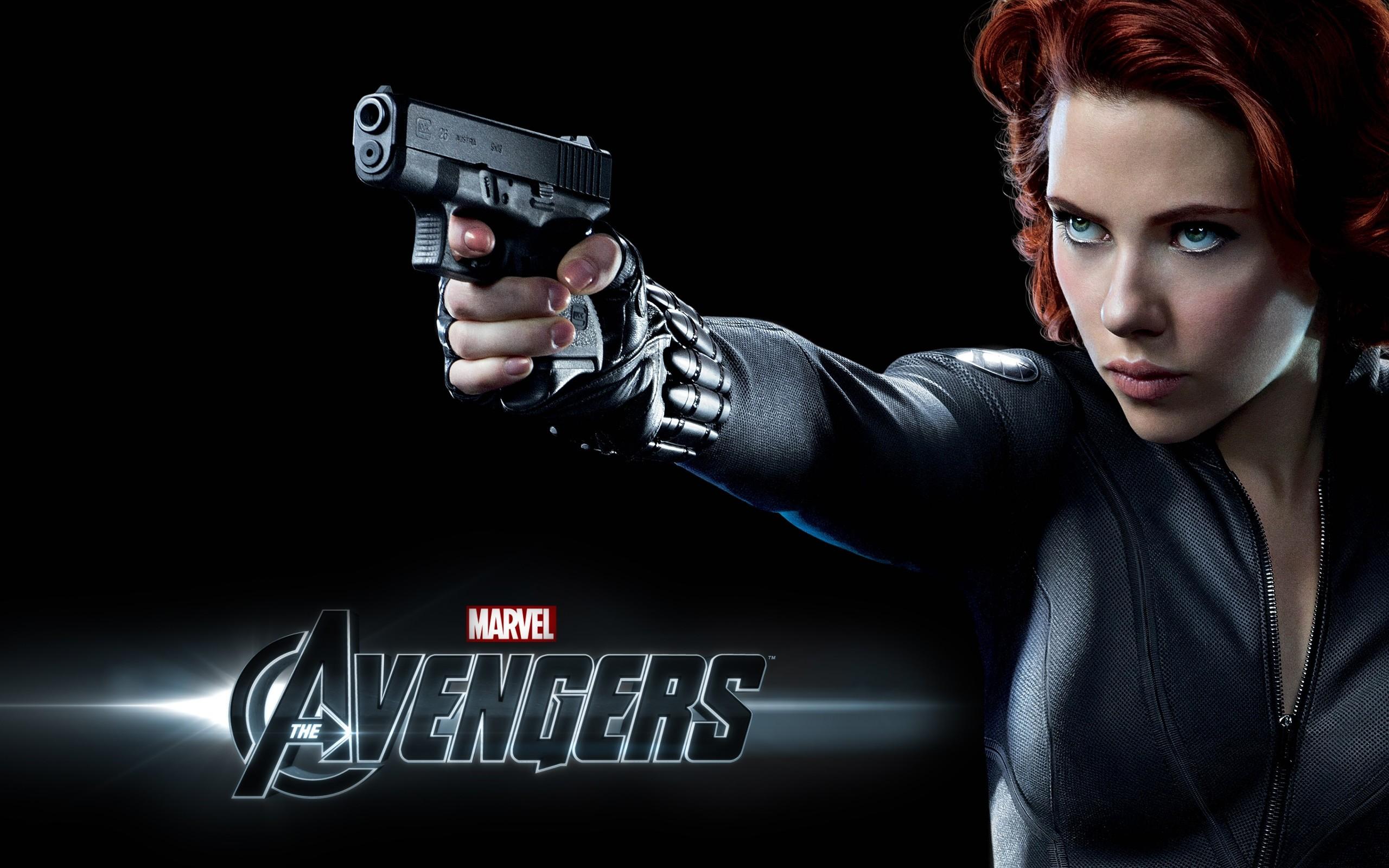 Scarlett Johansson in The Avengers HD Wallpapers, Desktop Images
