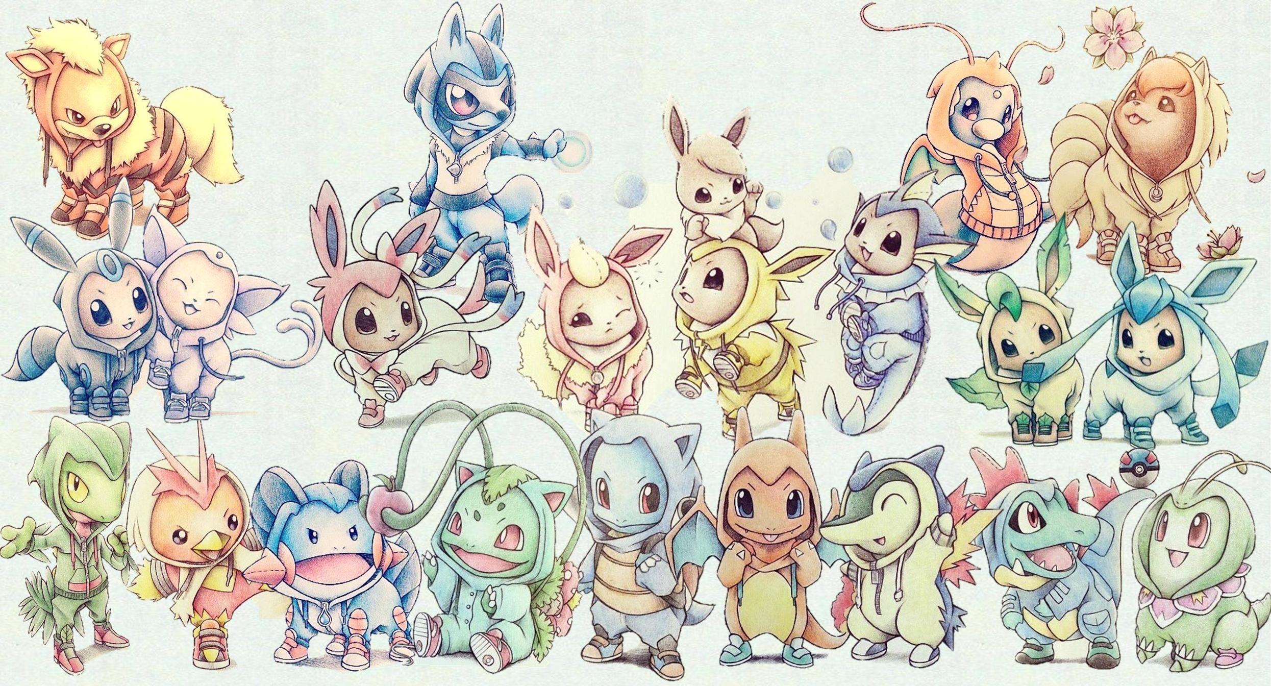 Cute Pokemon Wallpapers Widescreen