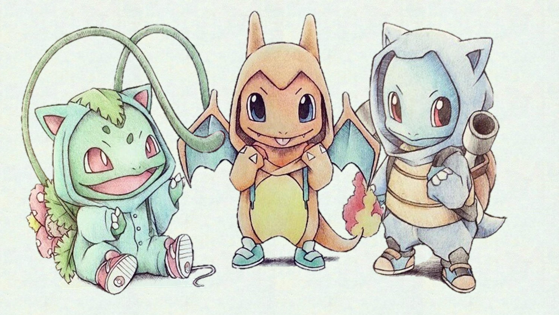 Wallpapers For > Starter Pokemon Wallpaper