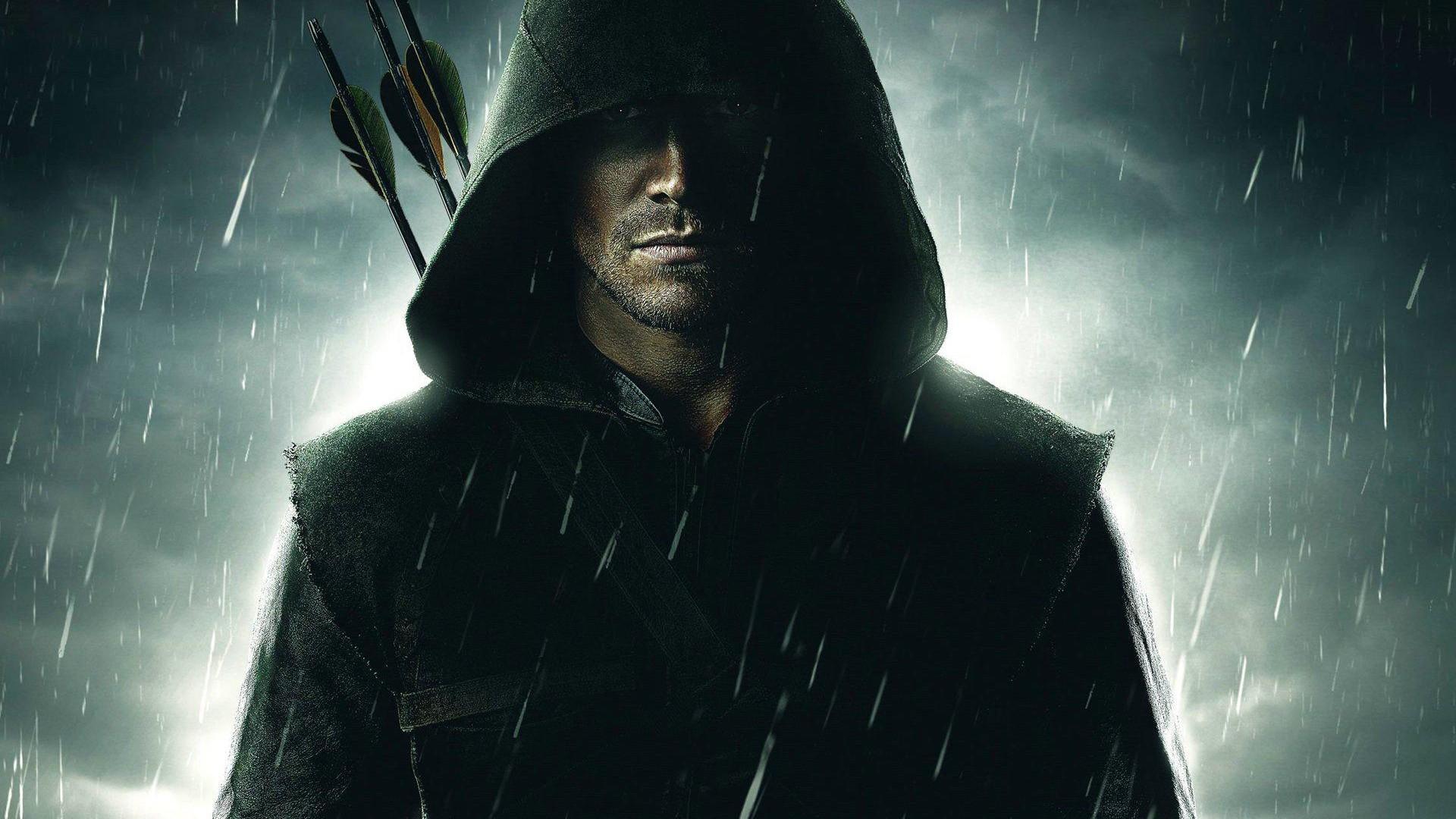 Green Arrow Action Hero Wallpaper HD Wallpaper