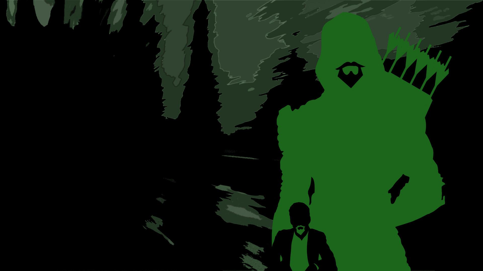 Green Arrow HD Background