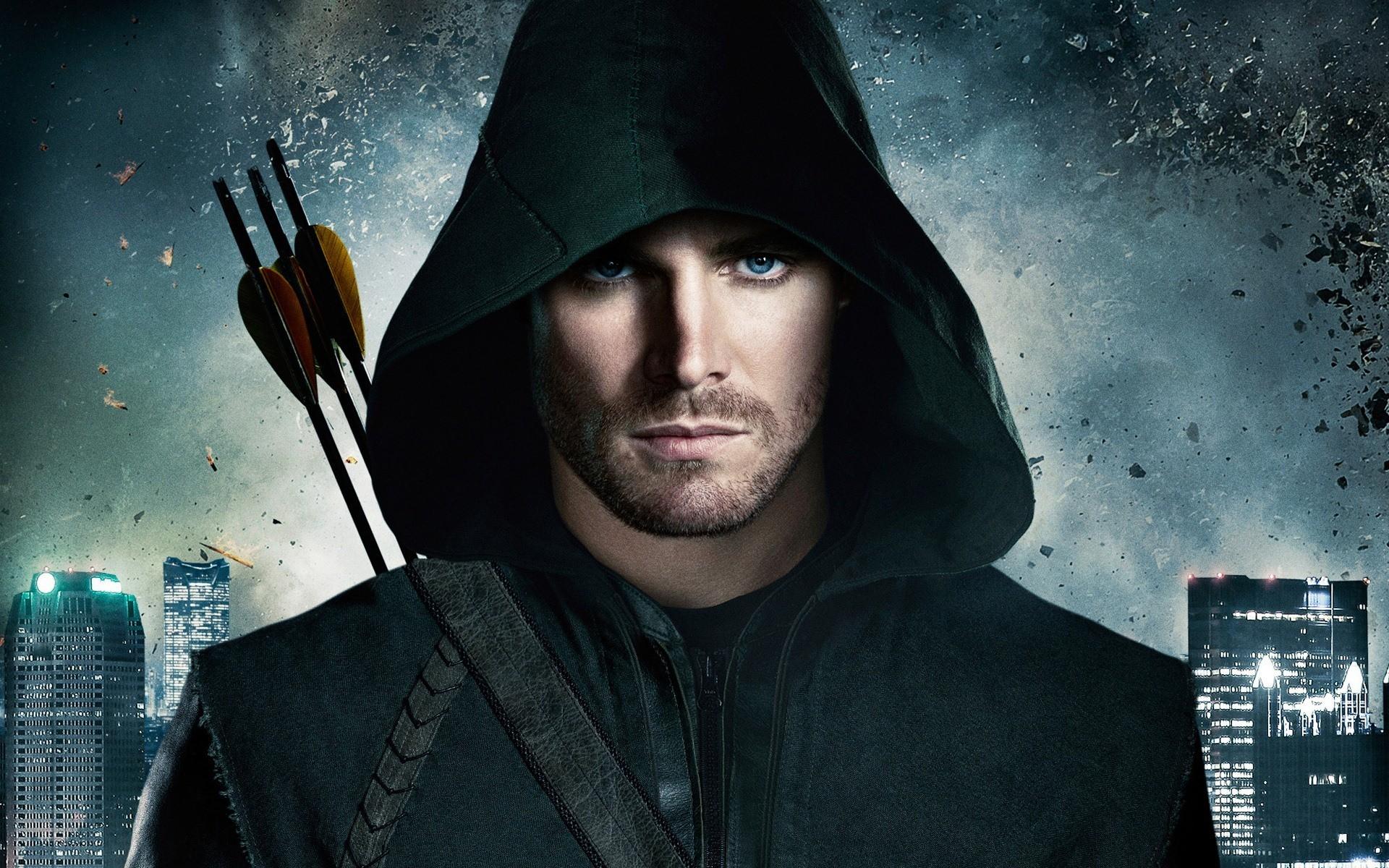 Oliver Queen – Arrow desktop PC and Mac wallpaper