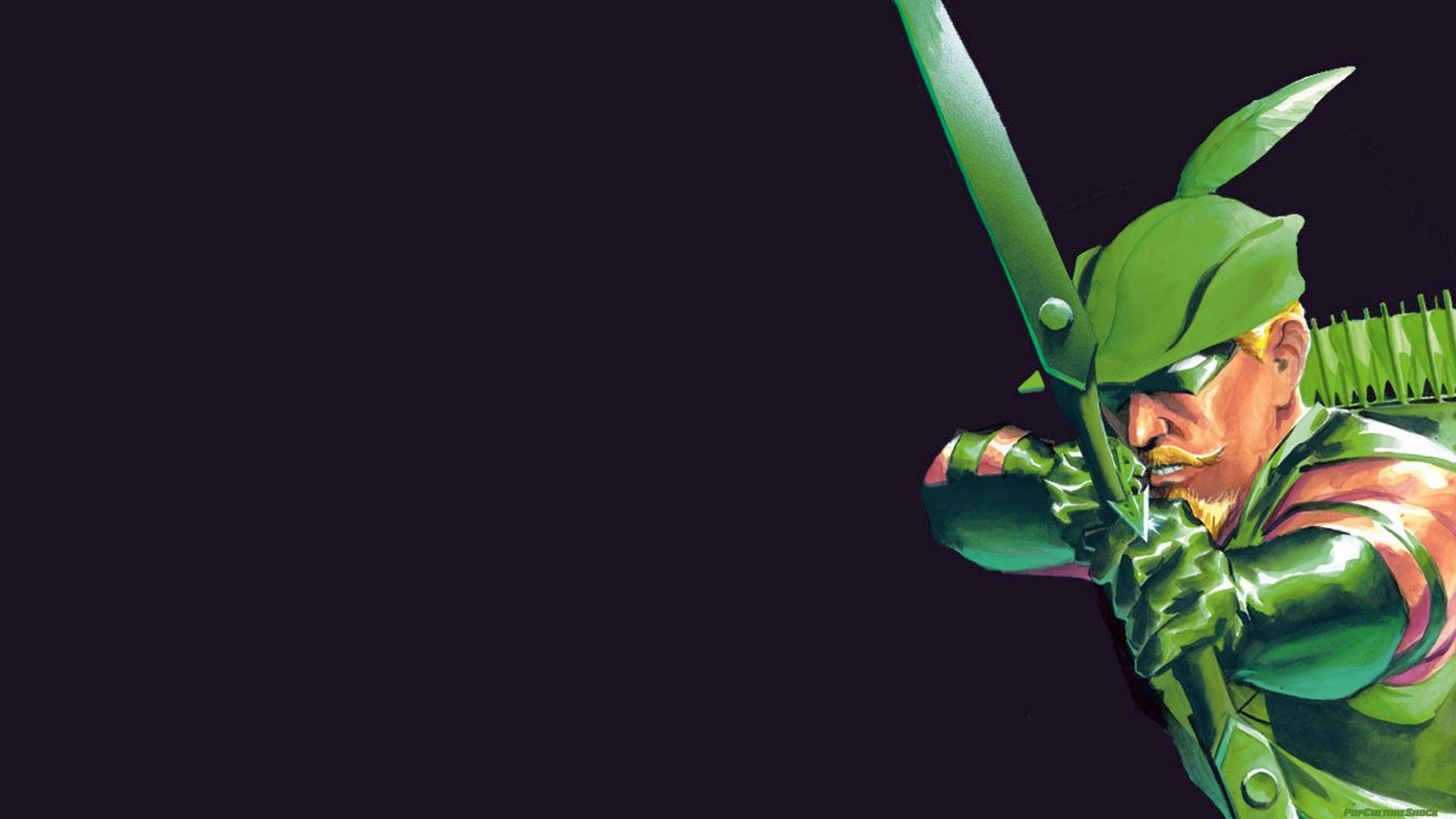 Green Arrow DC Bow Arrow HD wallpaper thumb