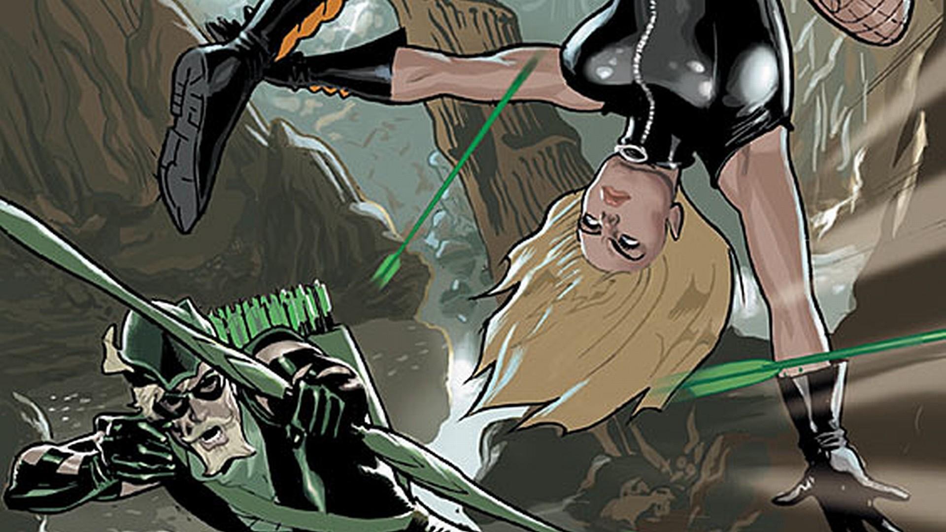 Comics – Justice League Green Arrow Wallpaper